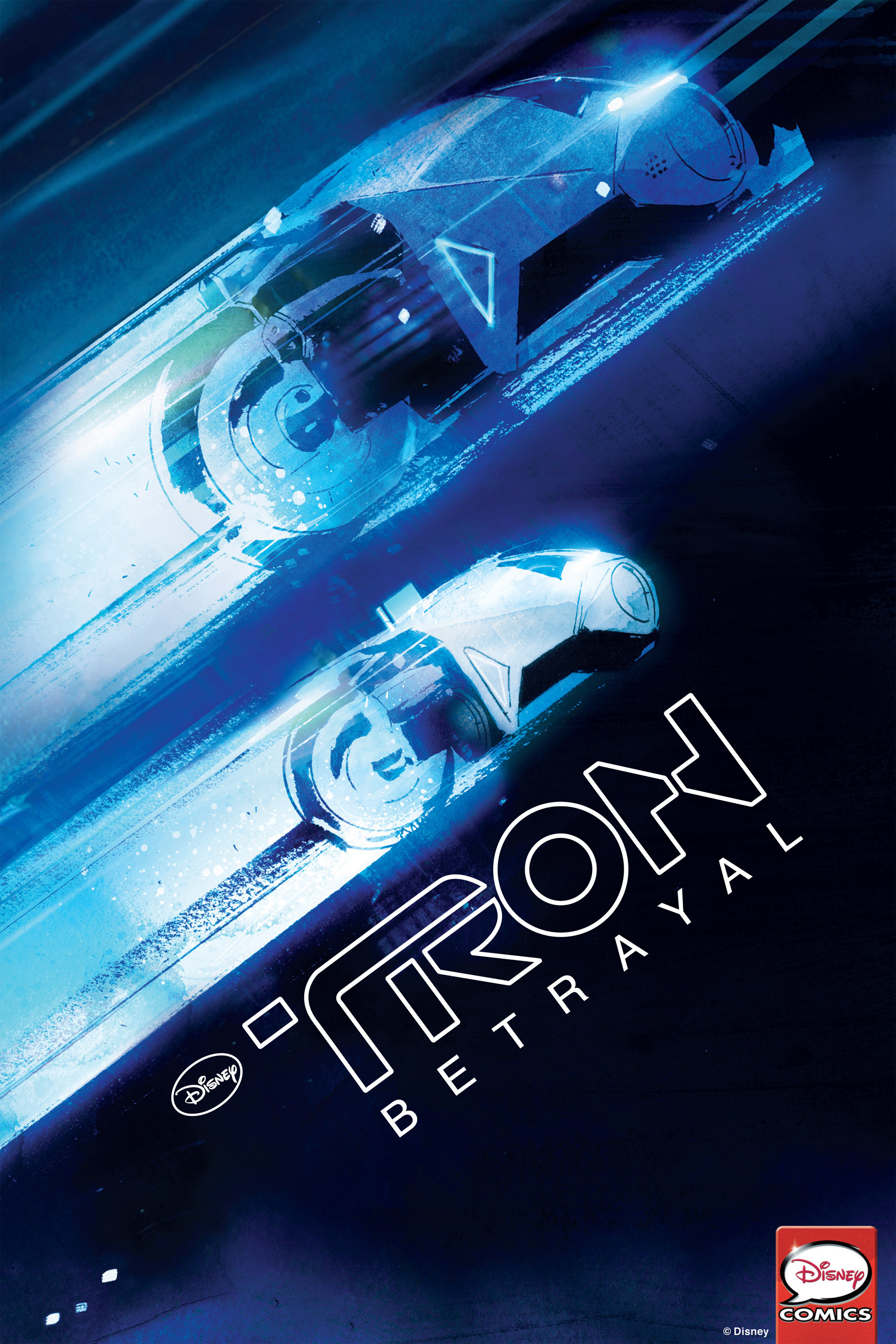 Read online TRON: Betrayal comic -  Issue # TPB - 1