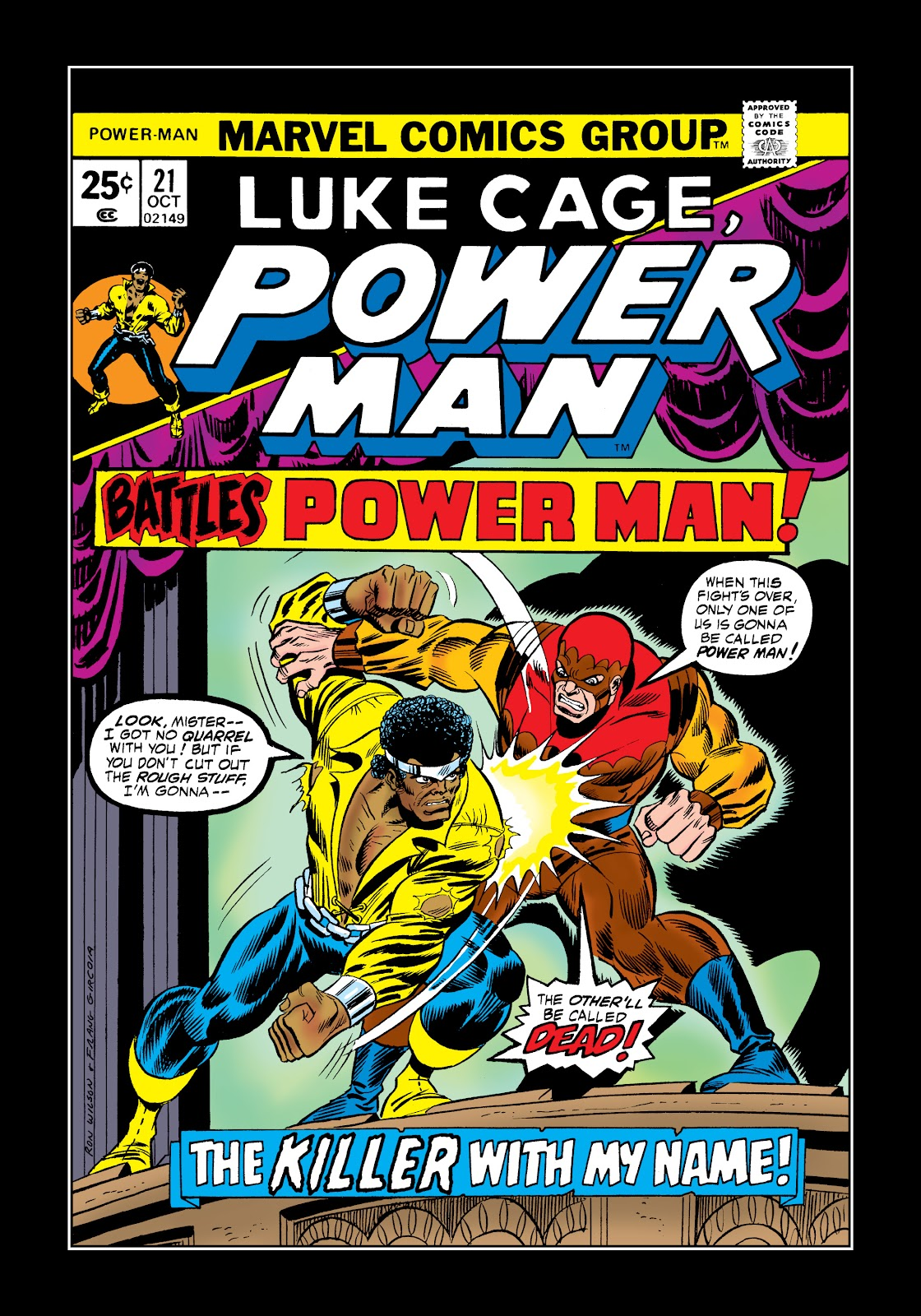 Read online Marvel Masterworks: Luke Cage, Power Man comic -  Issue # TPB 2 (Part 1) - 87