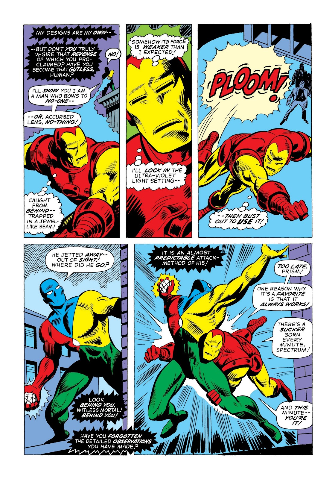 Read online Marvel Masterworks: The Invincible Iron Man comic -  Issue # TPB 9 (Part 3) - 8