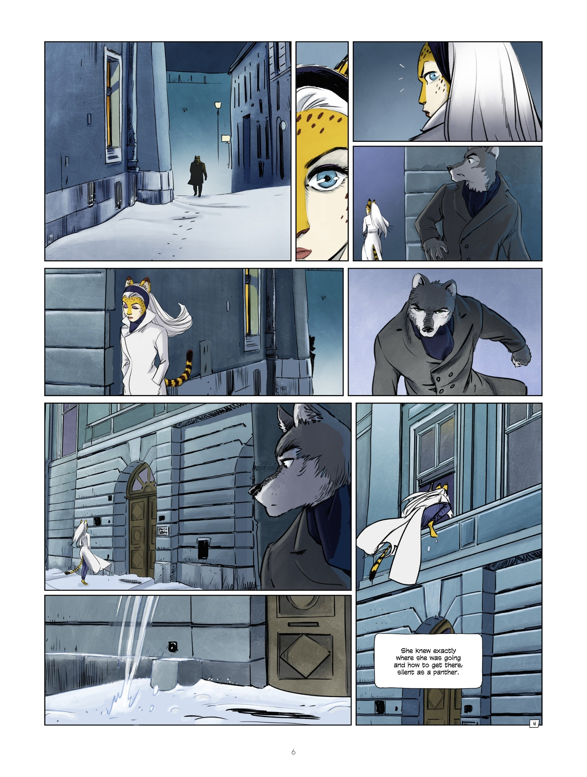 Read online Jack Wolfgang comic -  Issue #3 - 8