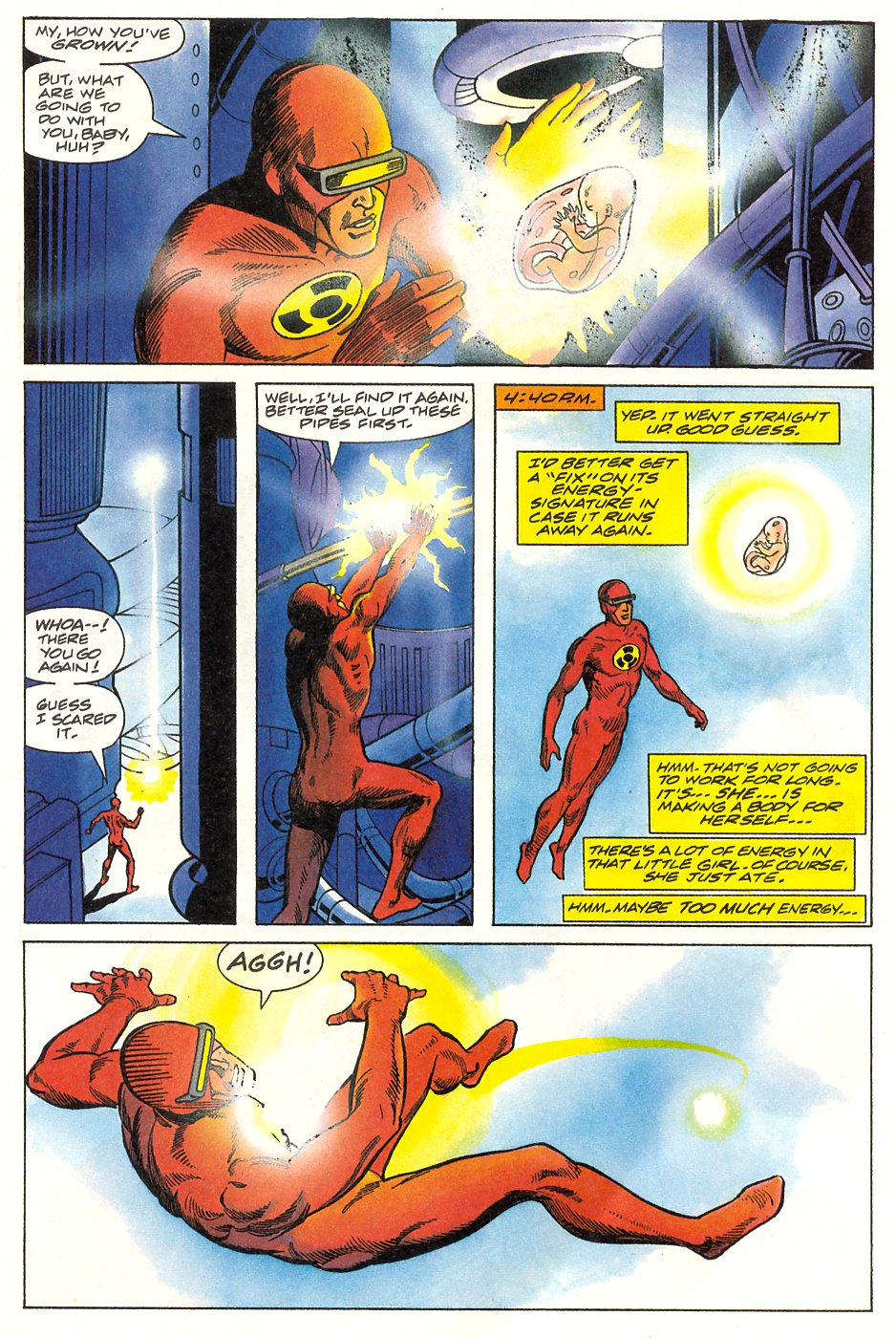 Read online Solar, Man of the Atom comic -  Issue #9 - 13