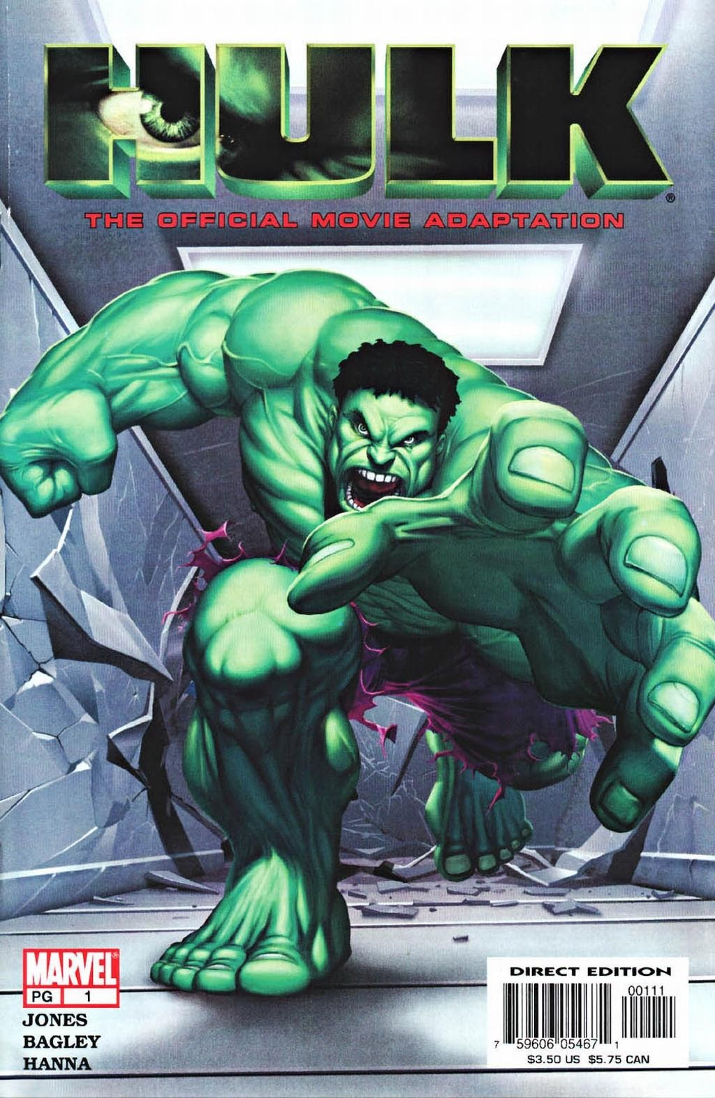 Hulk: The Movie Adaptation issue Full - Page 1