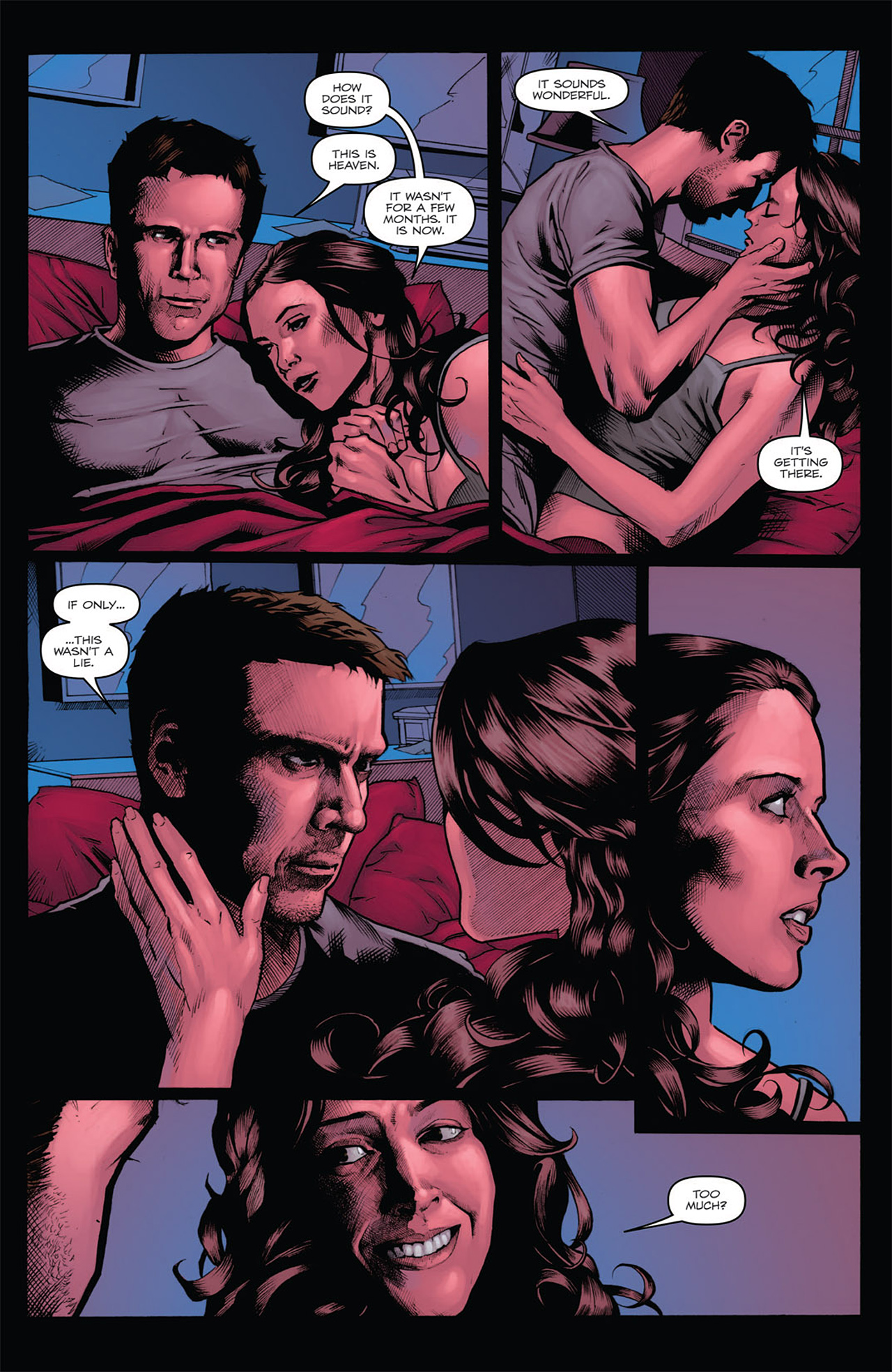 Read online Angel: After The Fall comic -  Issue #7 - 9