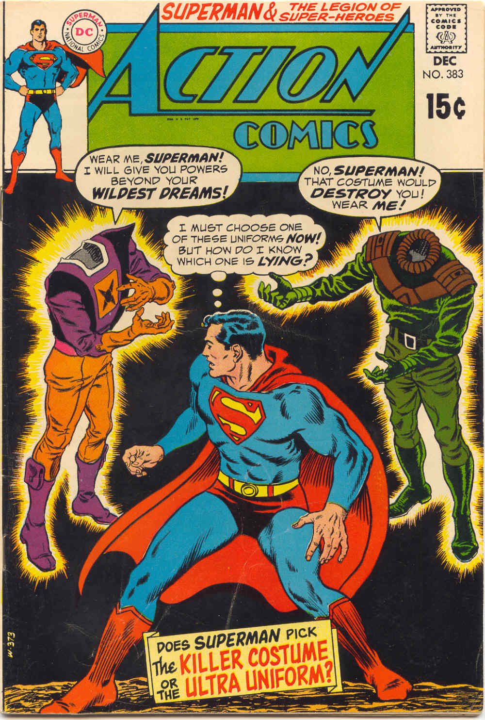 Read online Action Comics (1938) comic -  Issue #383 - 1