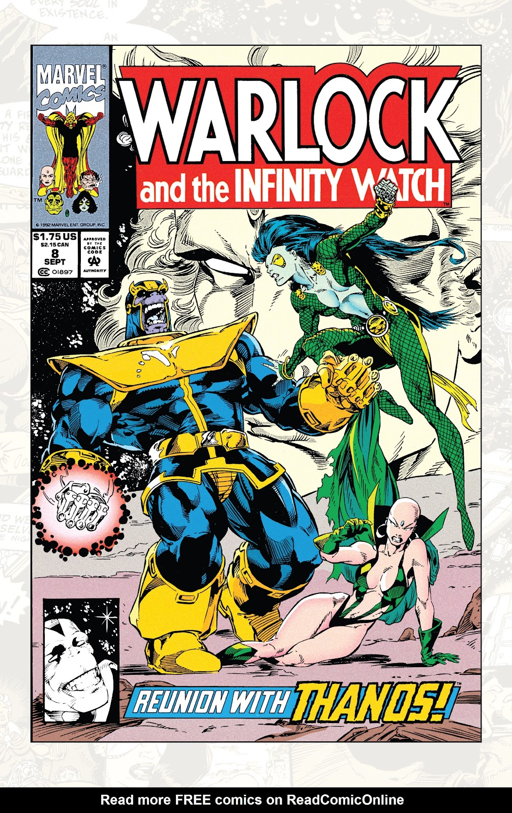 Read online Marvel Tales: Thanos comic -  Issue # Full - 48