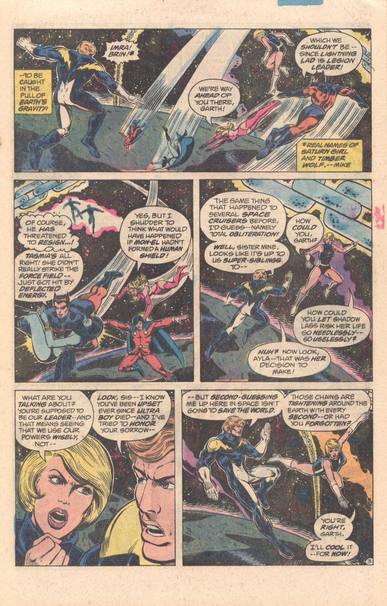 Legion of Super-Heroes (1980) 278 Page 3