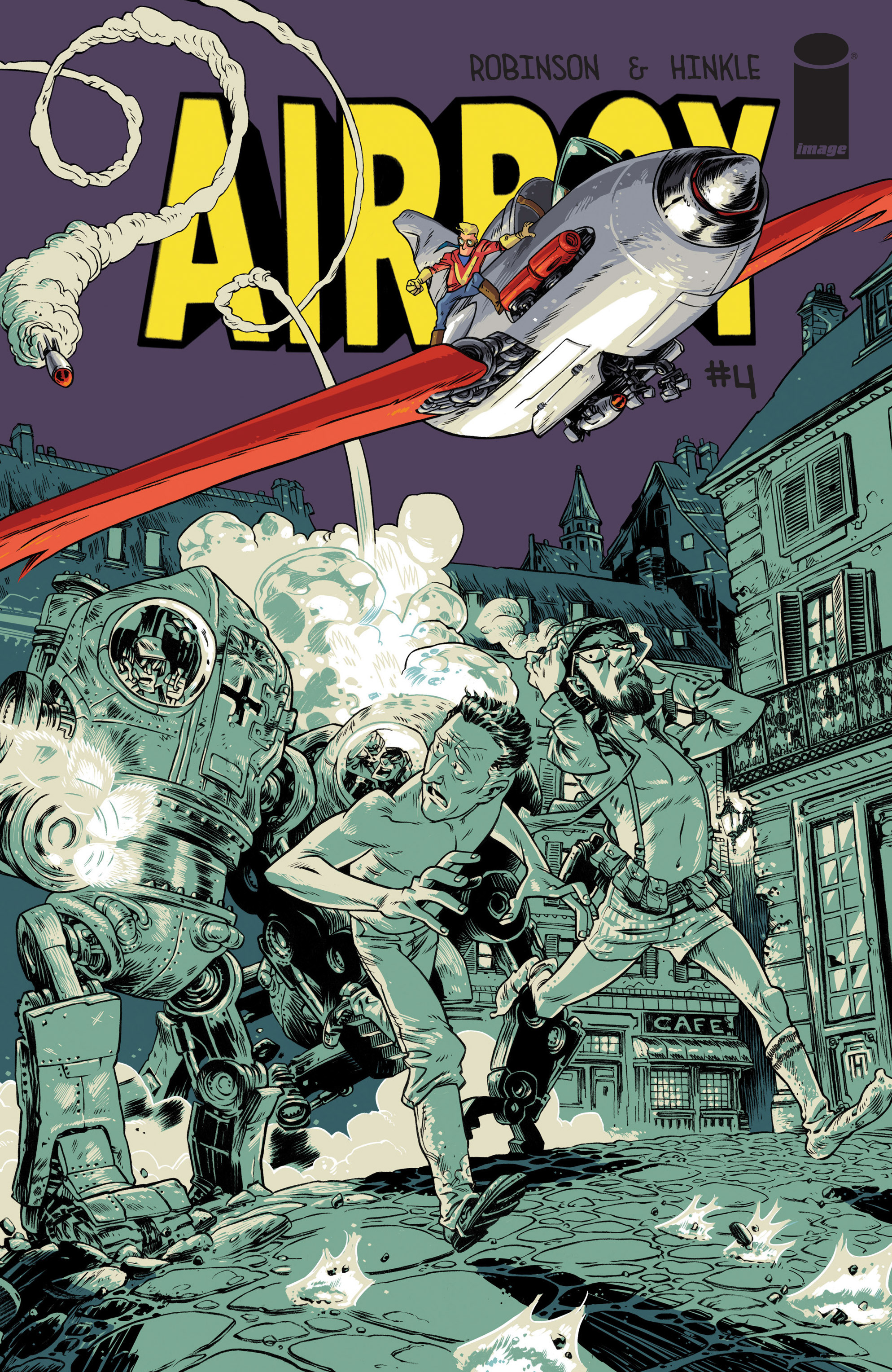 Read online Airboy comic -  Issue #4 - 1