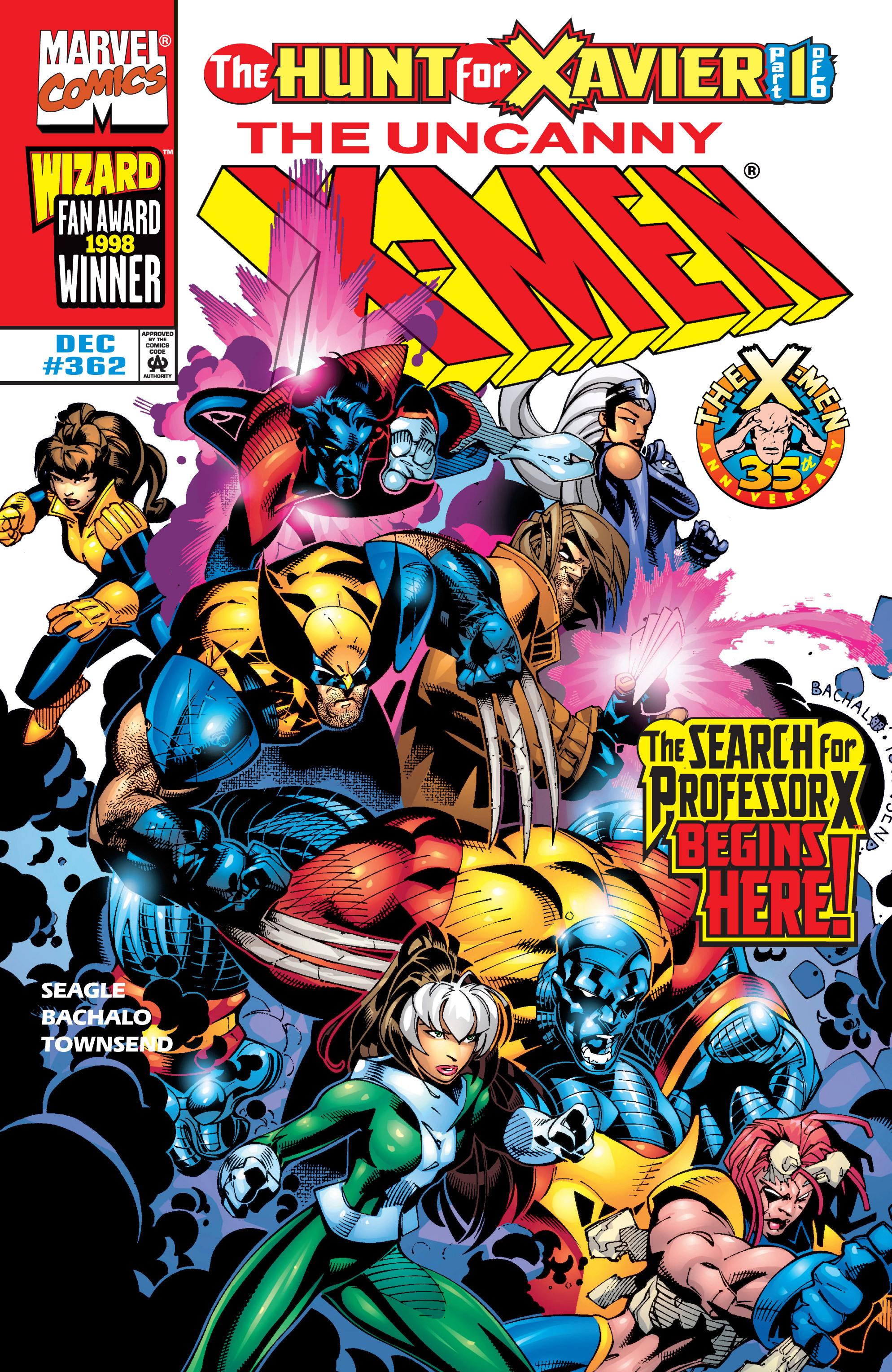 Uncanny X-Men (1963) 362 Page 1