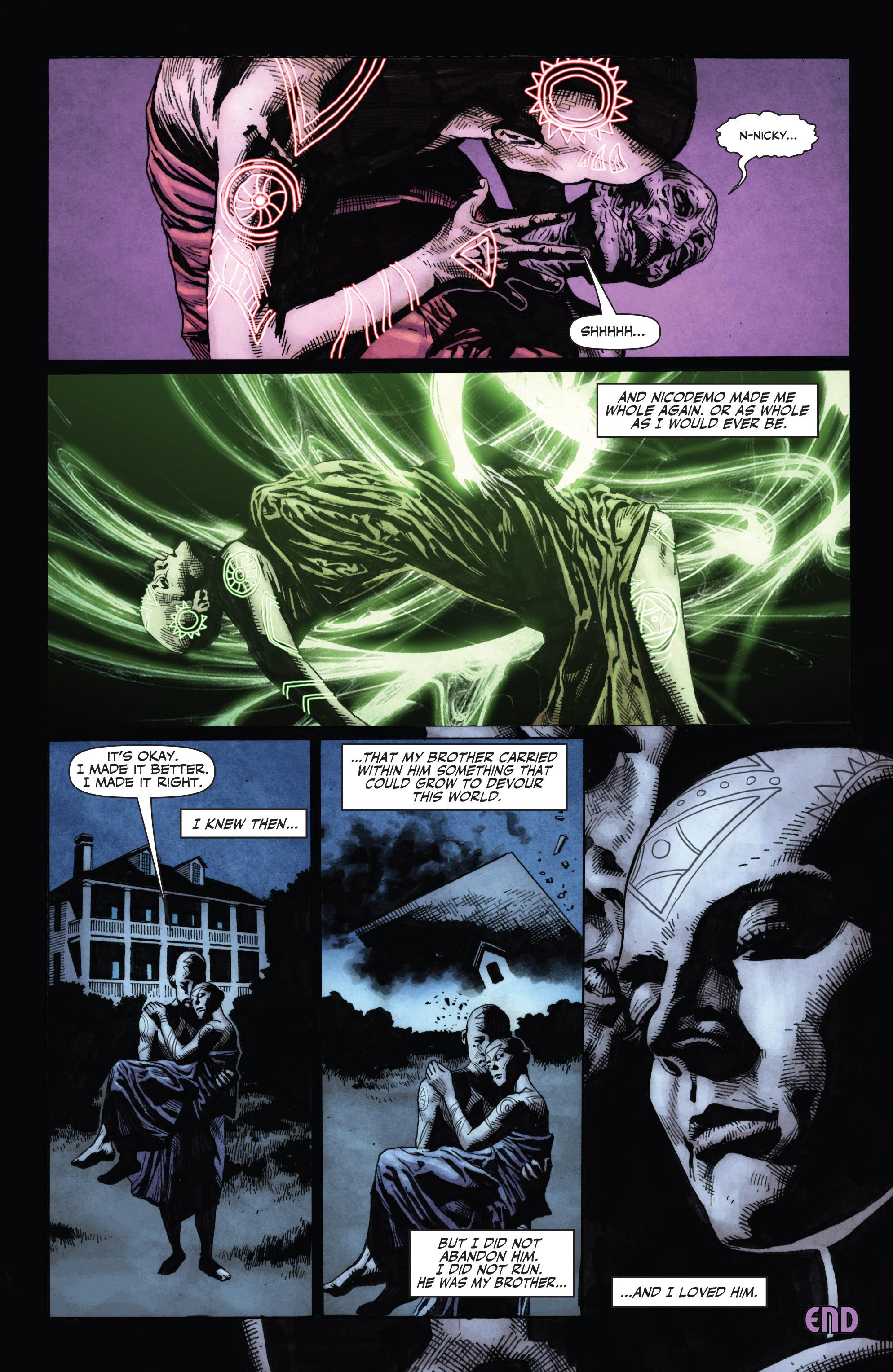 Read online Shadowman (2012) comic -  Issue #0 - 25