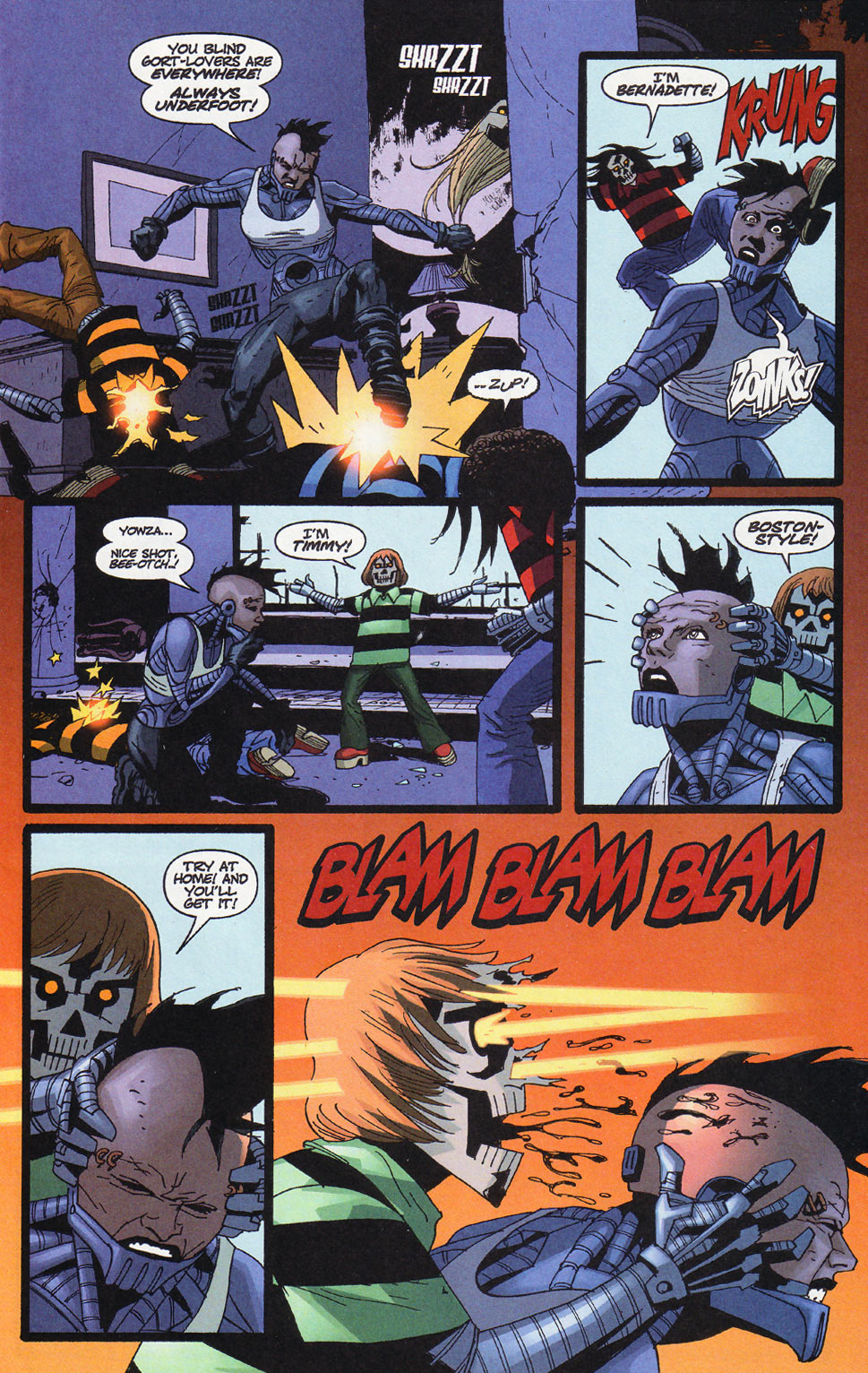 Wildcats (1999) Issue #11 #12 - English 15