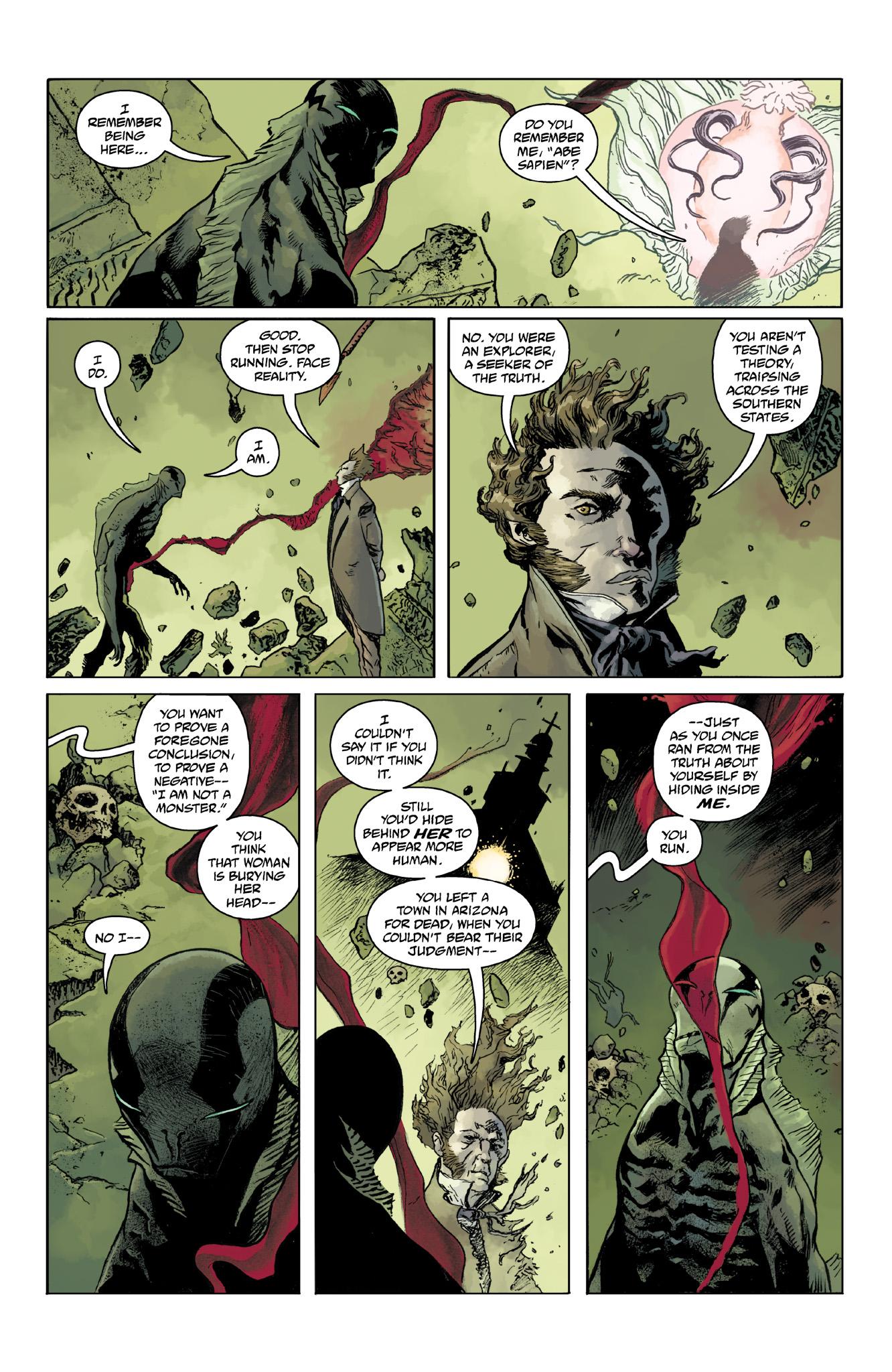 Read online Abe Sapien comic -  Issue #14 - 21
