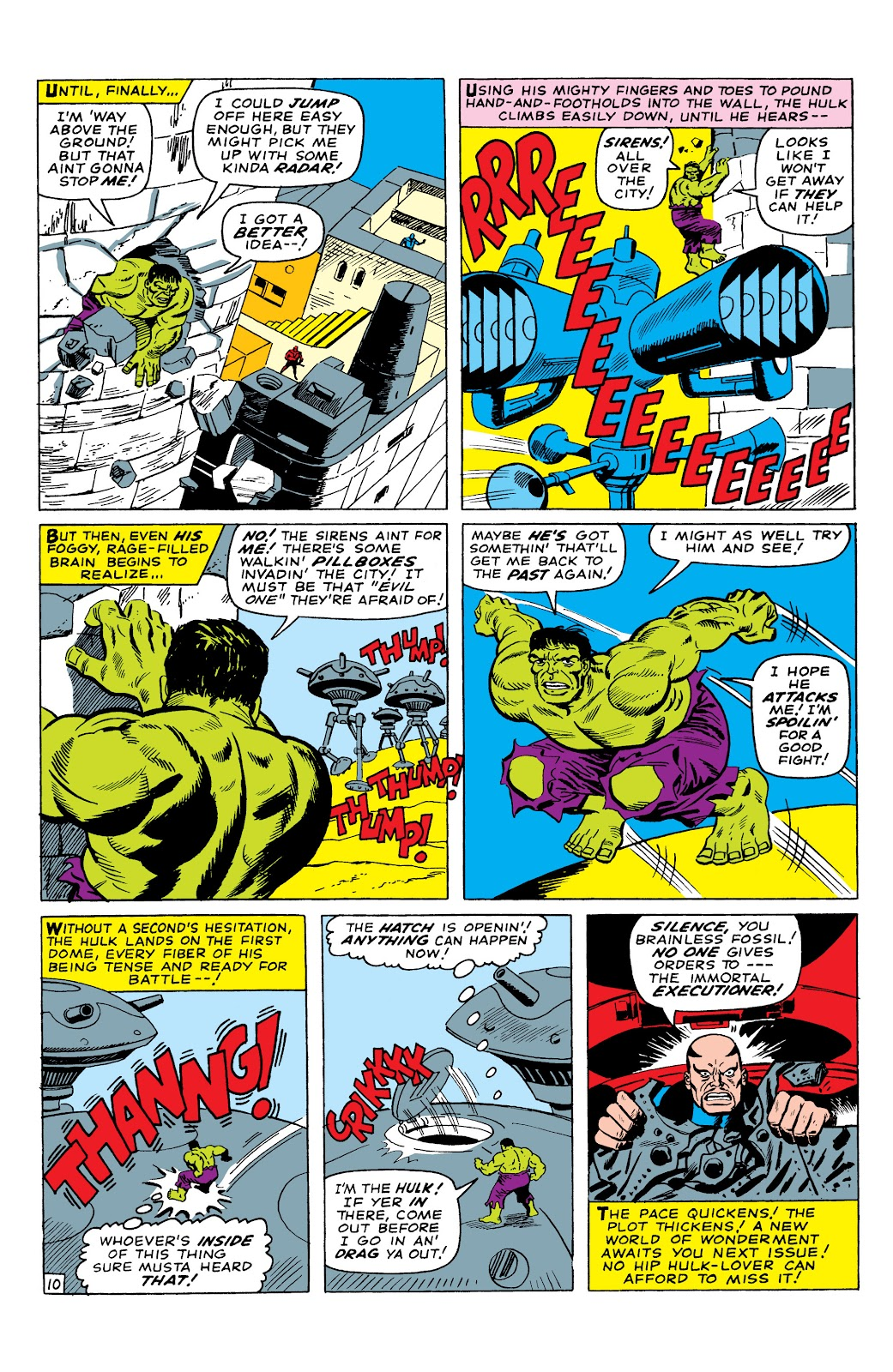 Read online Marvel Masterworks: The Incredible Hulk comic -  Issue # TPB 2 (Part 3) - 10