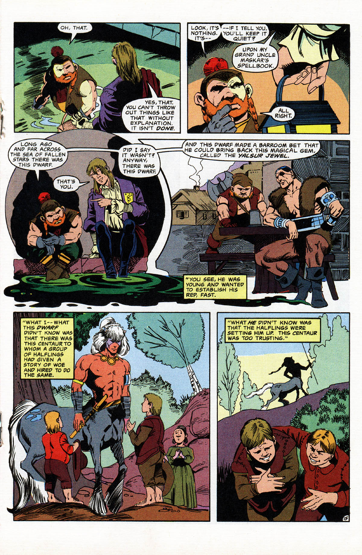 Read online Advanced Dungeons & Dragons comic -  Issue #11 - 18