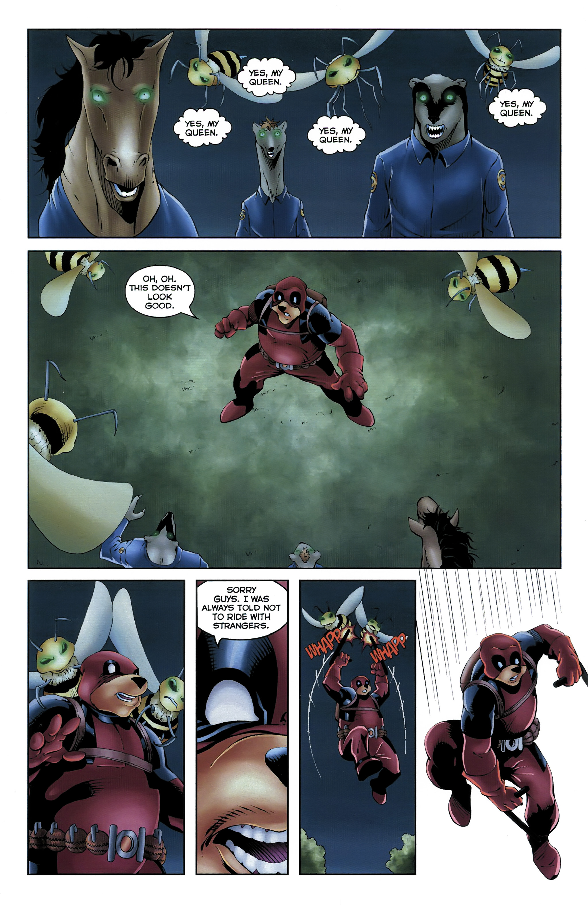 Read online Dead Pooh comic -  Issue #3 - 18
