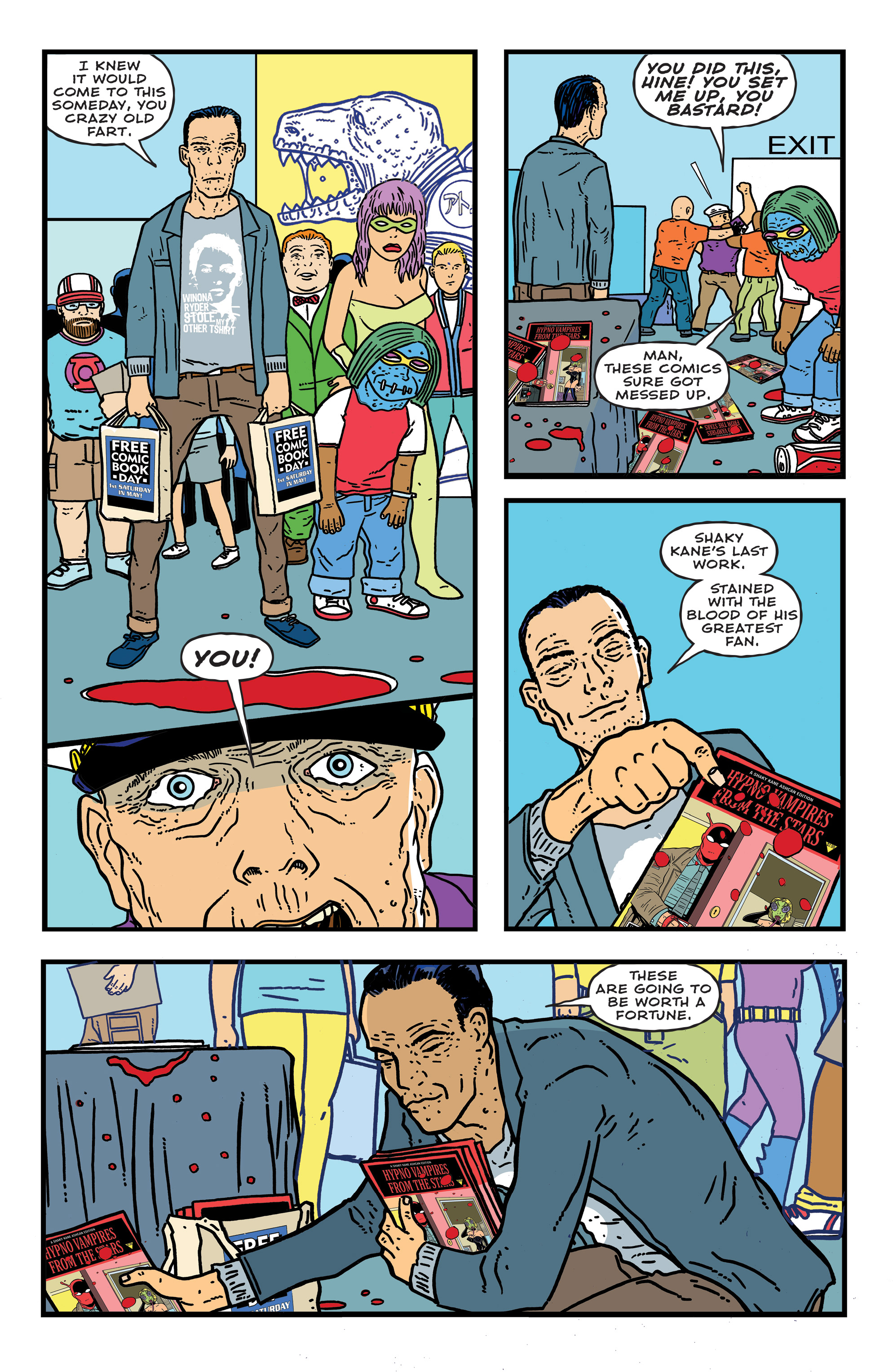 Read online Bulletproof Coffin: The Thousand Yard Stare comic -  Issue # Full - 27