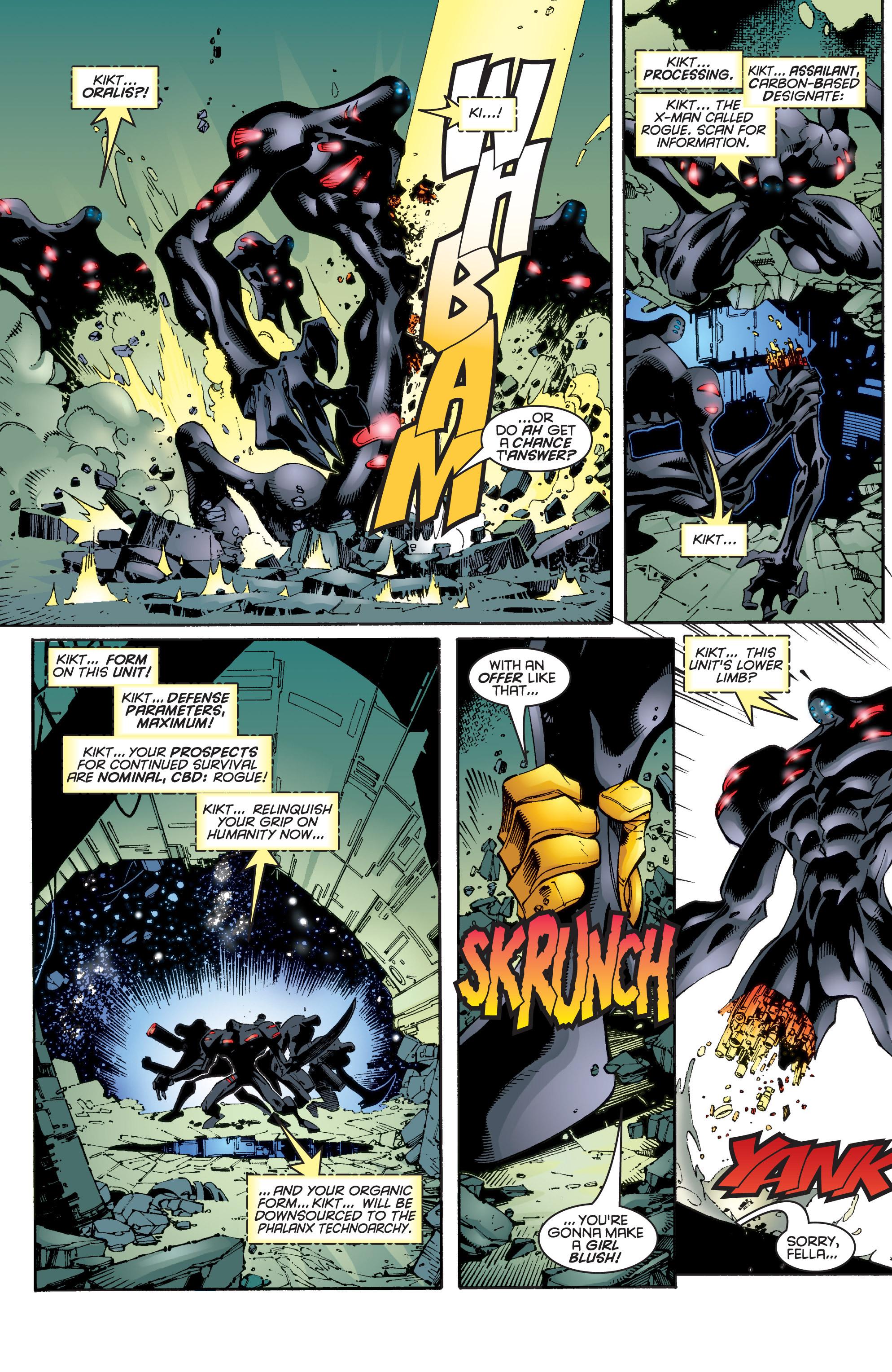 Read online Uncanny X-Men (1963) comic -  Issue #343 - 9