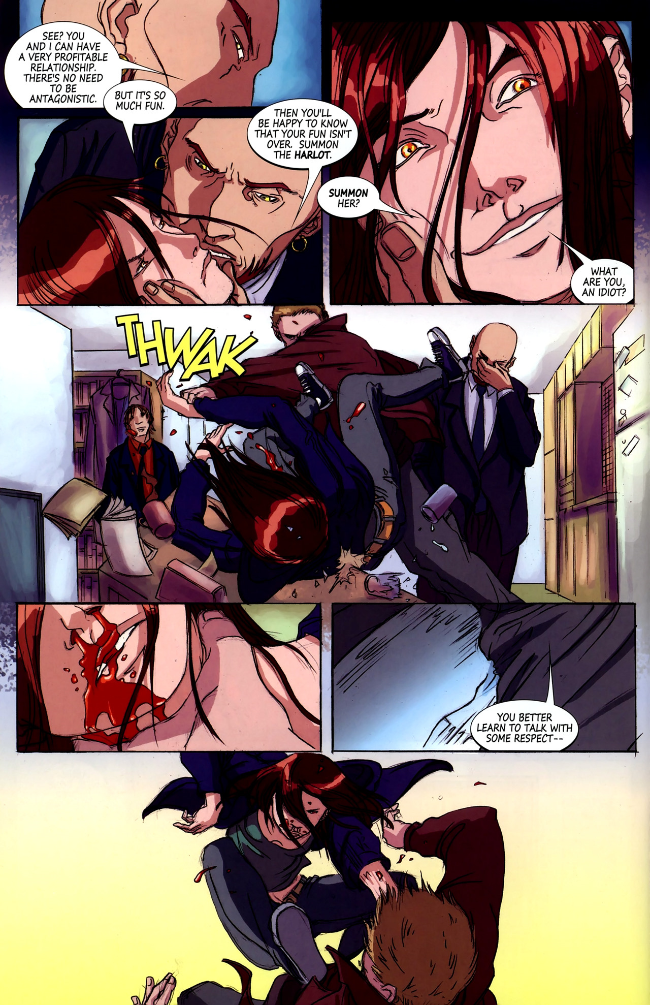 Read online Hexed comic -  Issue #2 - 21