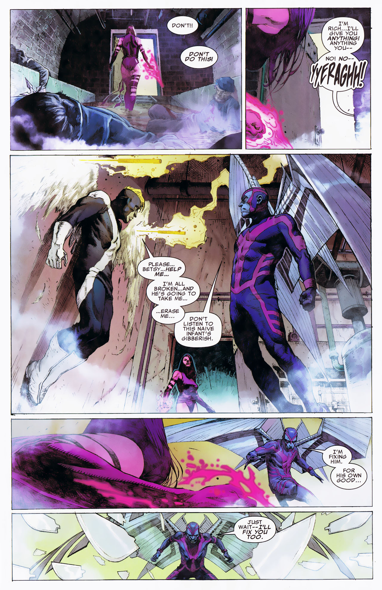Read online Uncanny X-Force: The Apocalypse Solution comic -  Issue # Full - 9