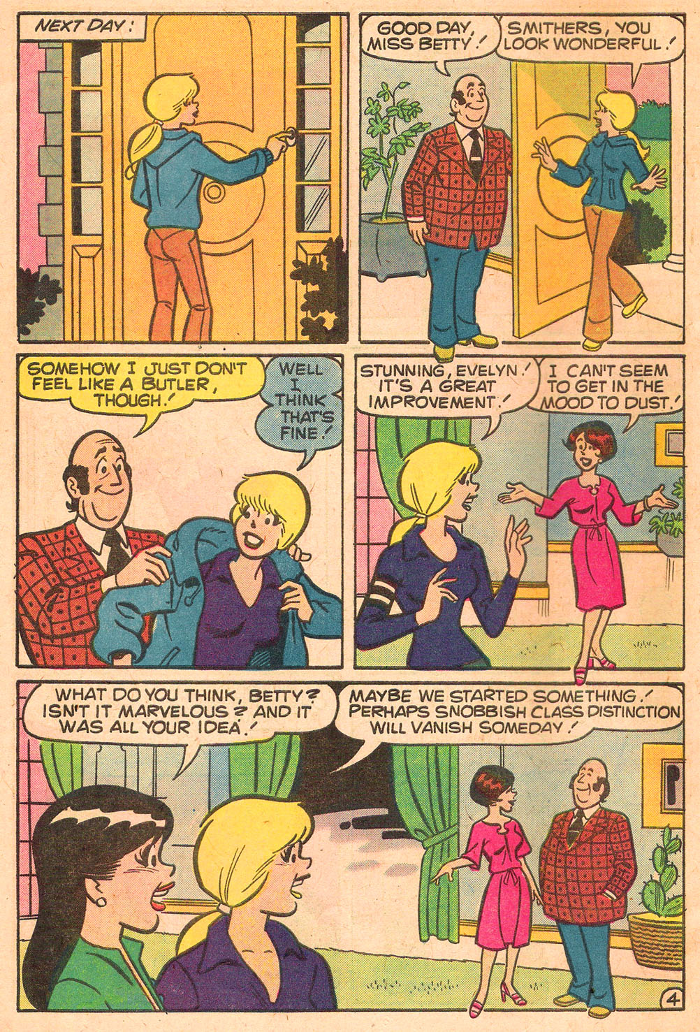 Read online Archie's Girls Betty and Veronica comic -  Issue #267 - 6