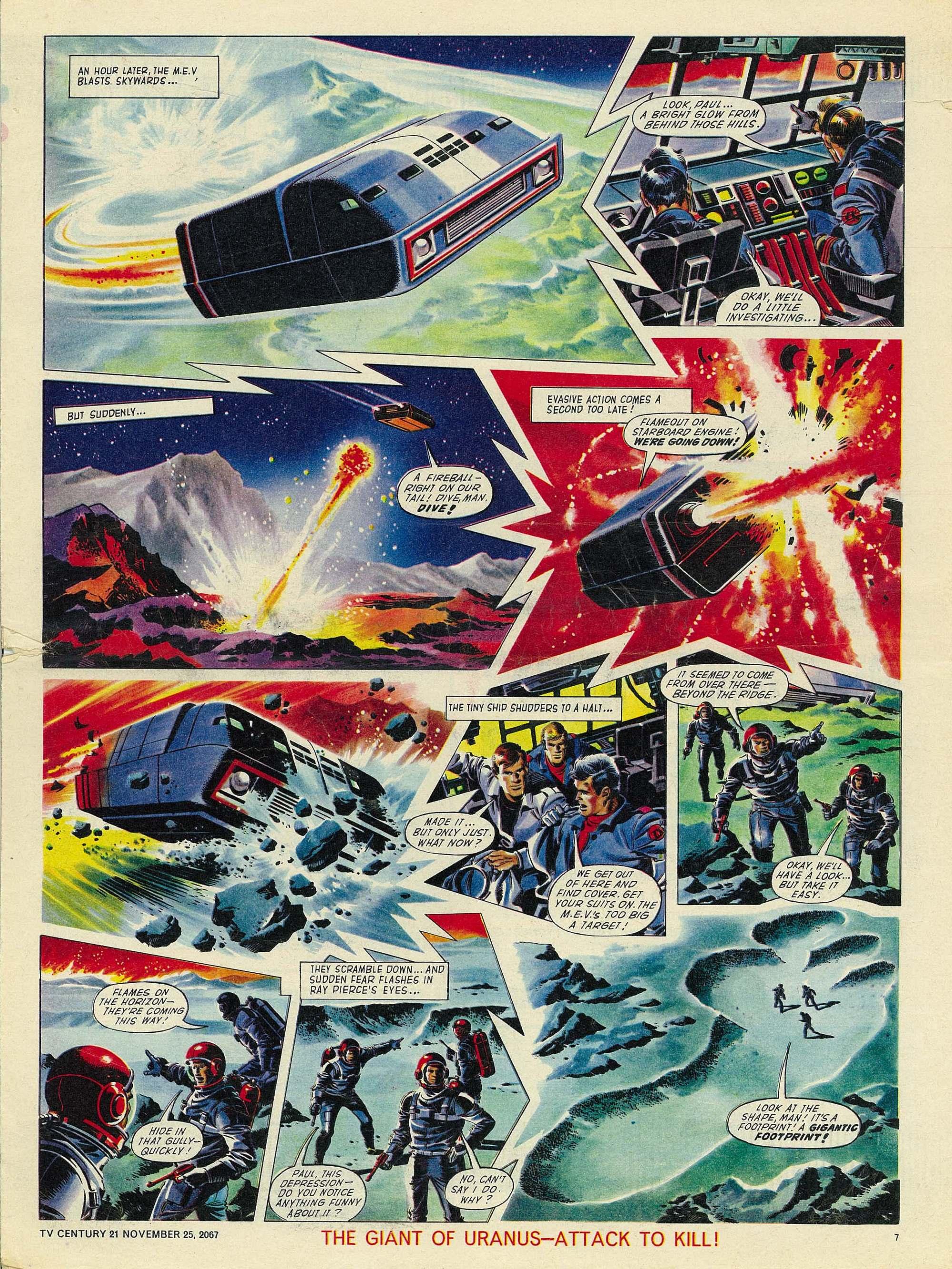Read online TV Century 21 (TV 21) comic -  Issue #149 - 7