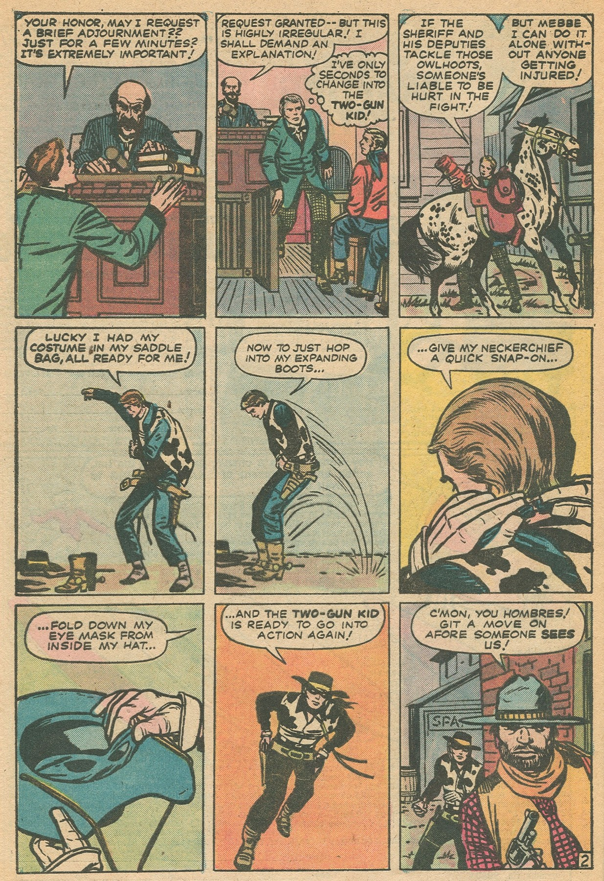 Read online Two-Gun Kid comic -  Issue #130 - 28