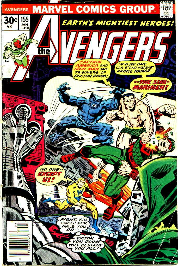 The Avengers (1963) 155 Page 1