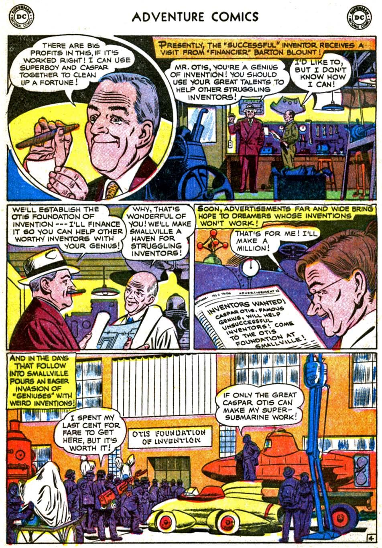 Read online Adventure Comics (1938) comic -  Issue #179 - 6