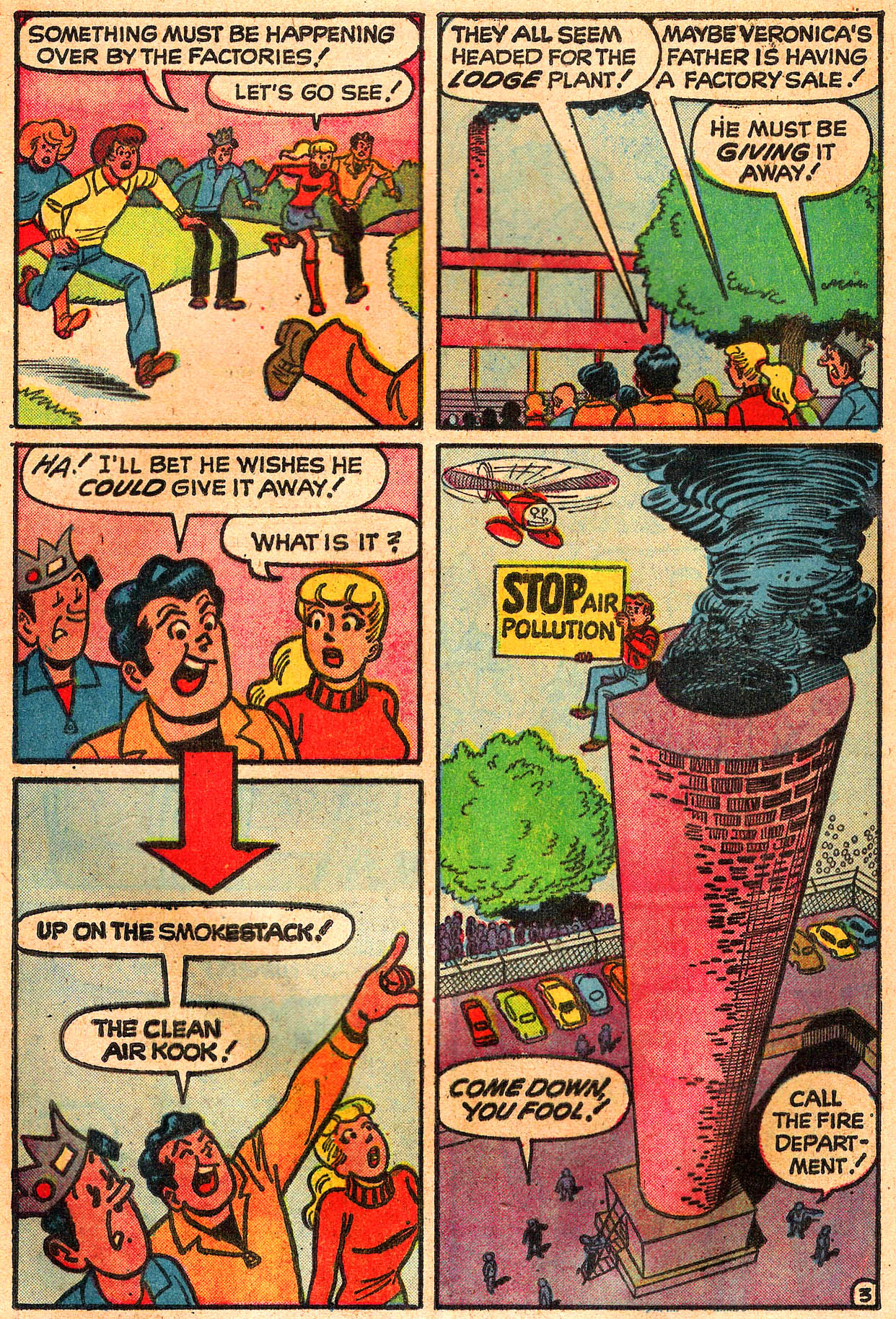 Read online Archie (1960) comic -  Issue #225 - 5