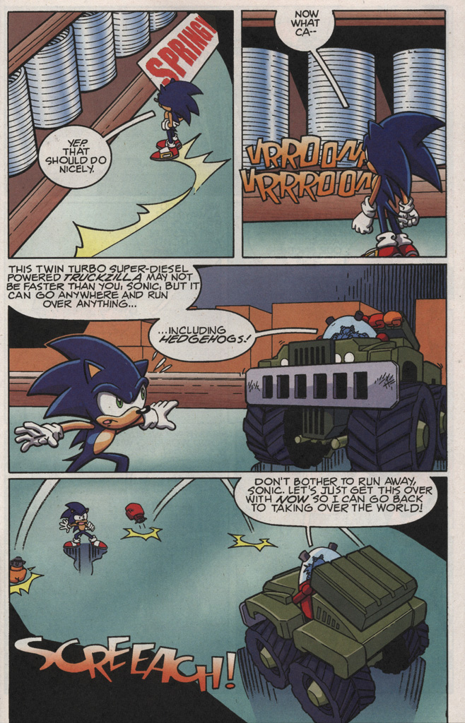 Read online Sonic X comic -  Issue #21 - 25