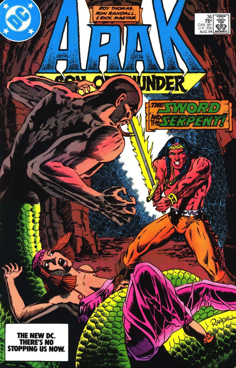 Arak Son of Thunder 36 Page 1
