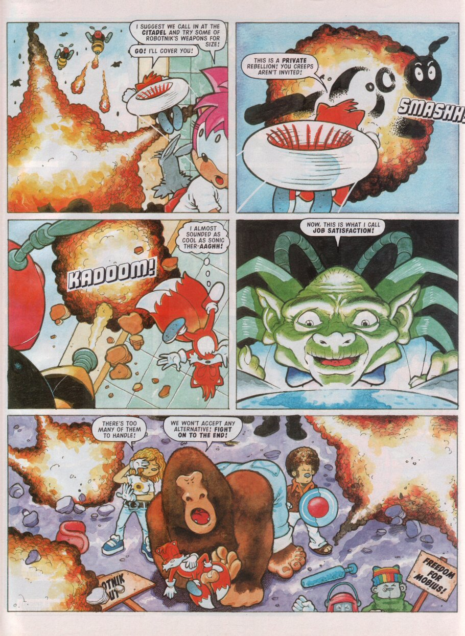 Read online Sonic the Comic comic -  Issue #99 - 25