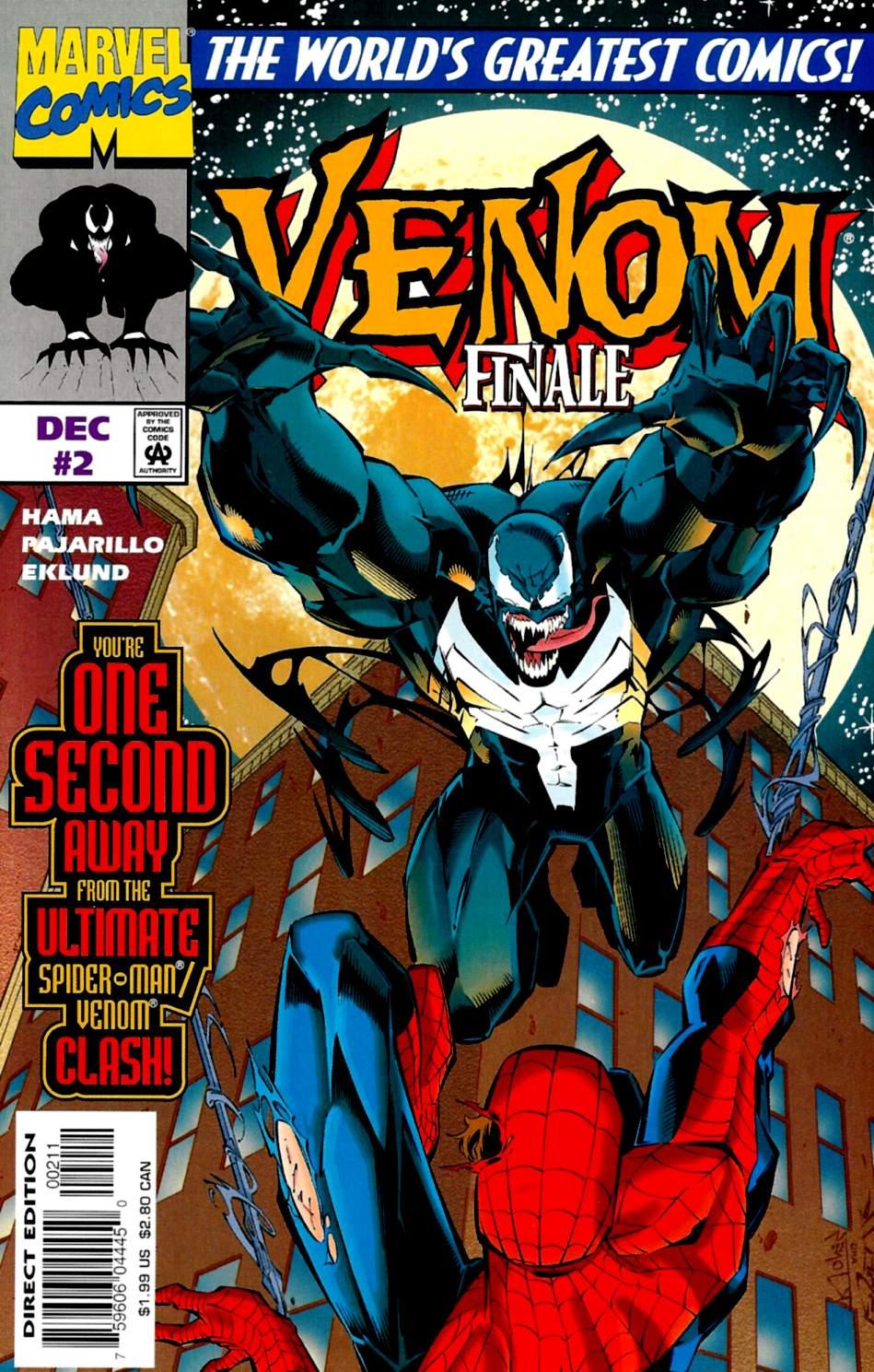 Venom: The Finale issue 2 - Page 1