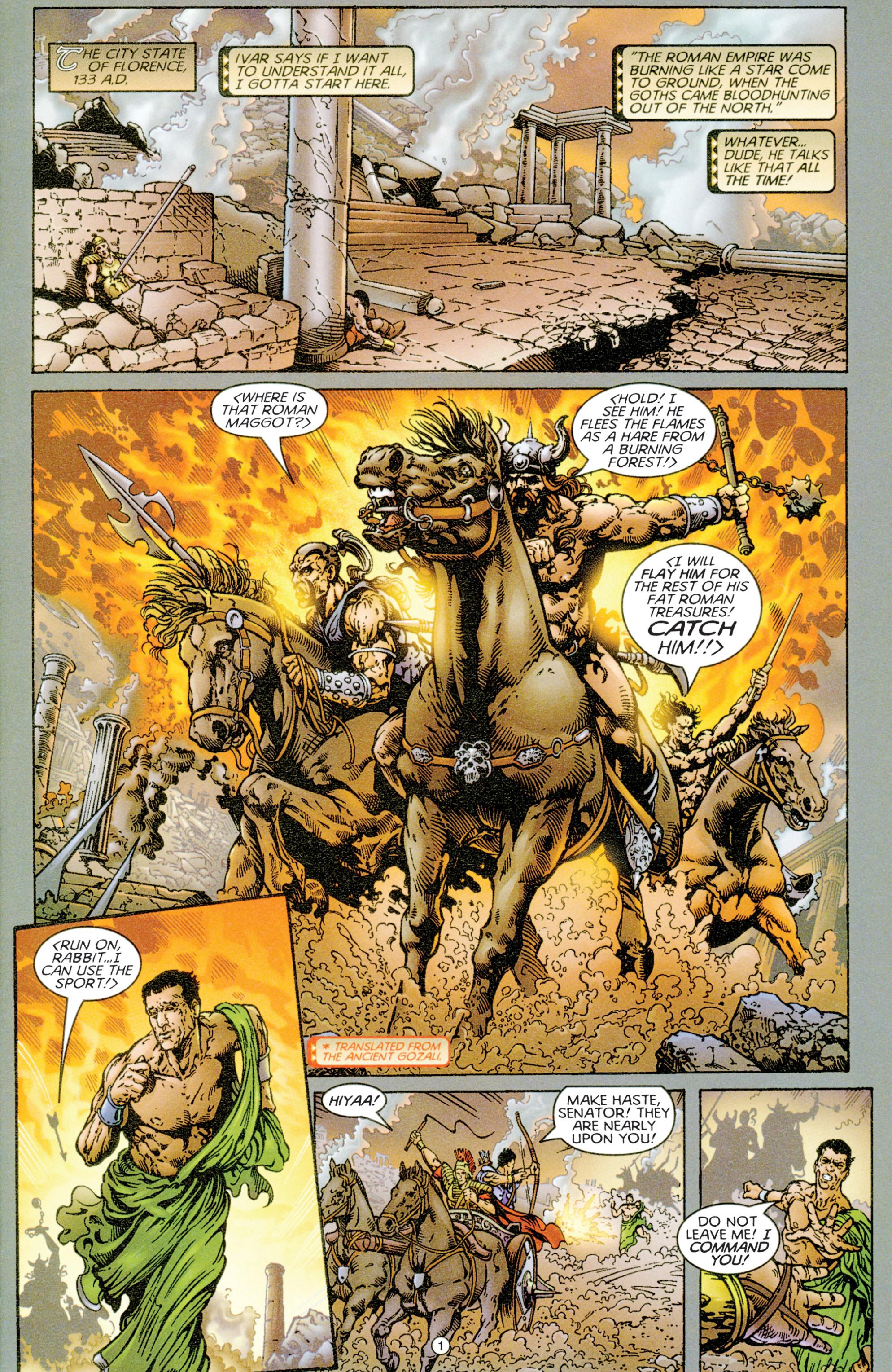 Read online Eternal Warriors comic -  Issue # Issue Time & Treachery - 2