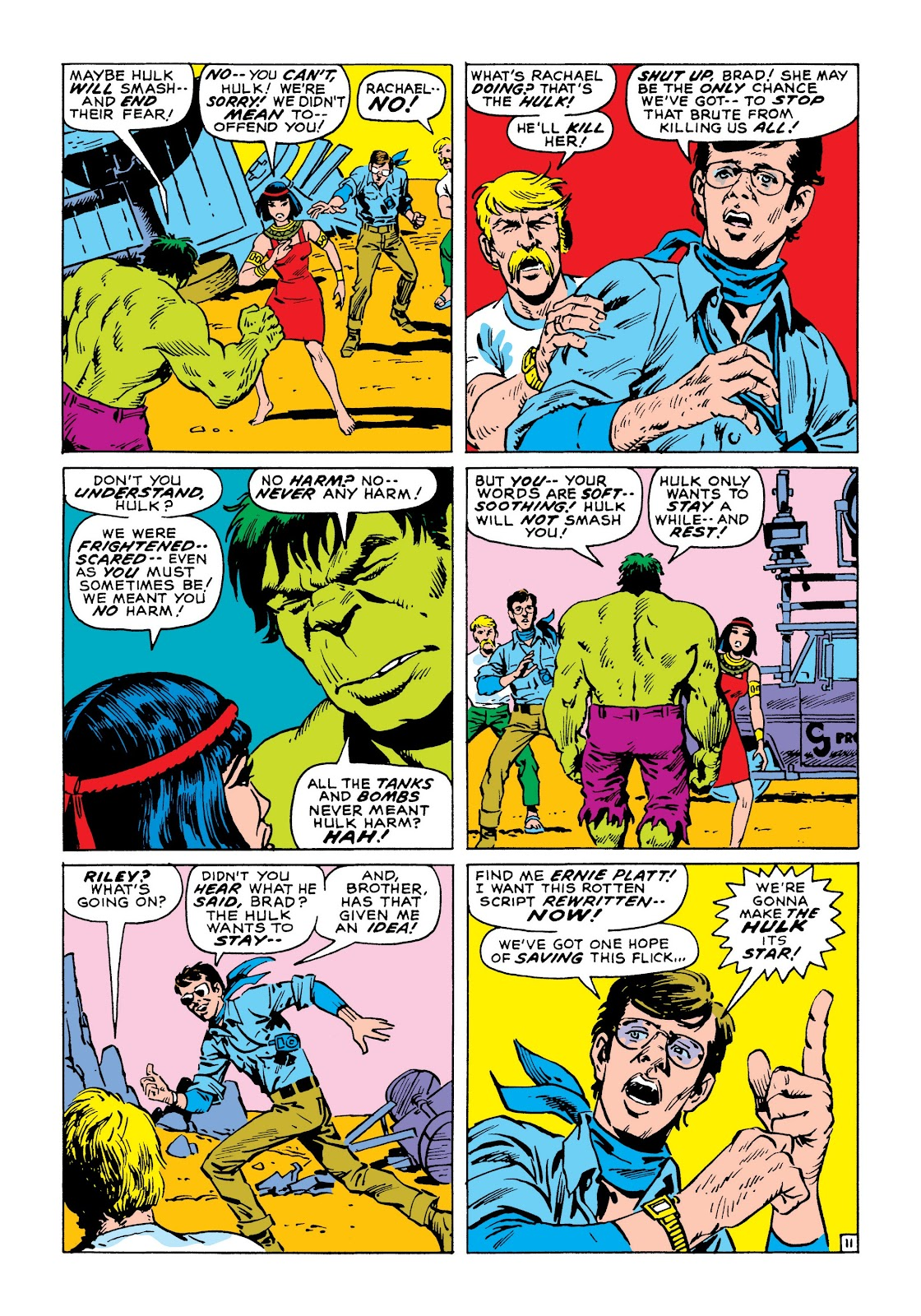 Read online Marvel Masterworks: The Incredible Hulk comic -  Issue # TPB 8 (Part 1) - 18
