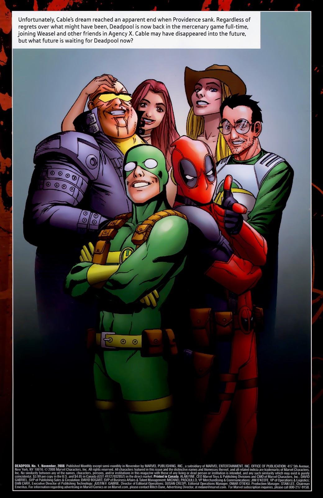 Read online Deadpool (2008) comic -  Issue #1 - 32