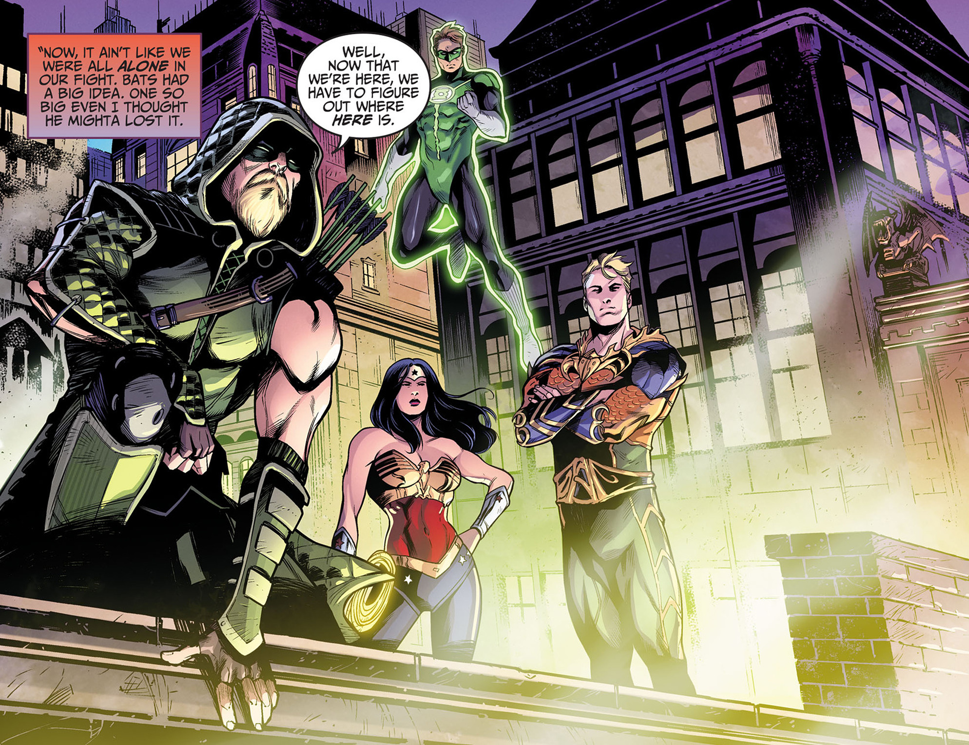 Read online Injustice: Ground Zero comic -  Issue #3 - 10