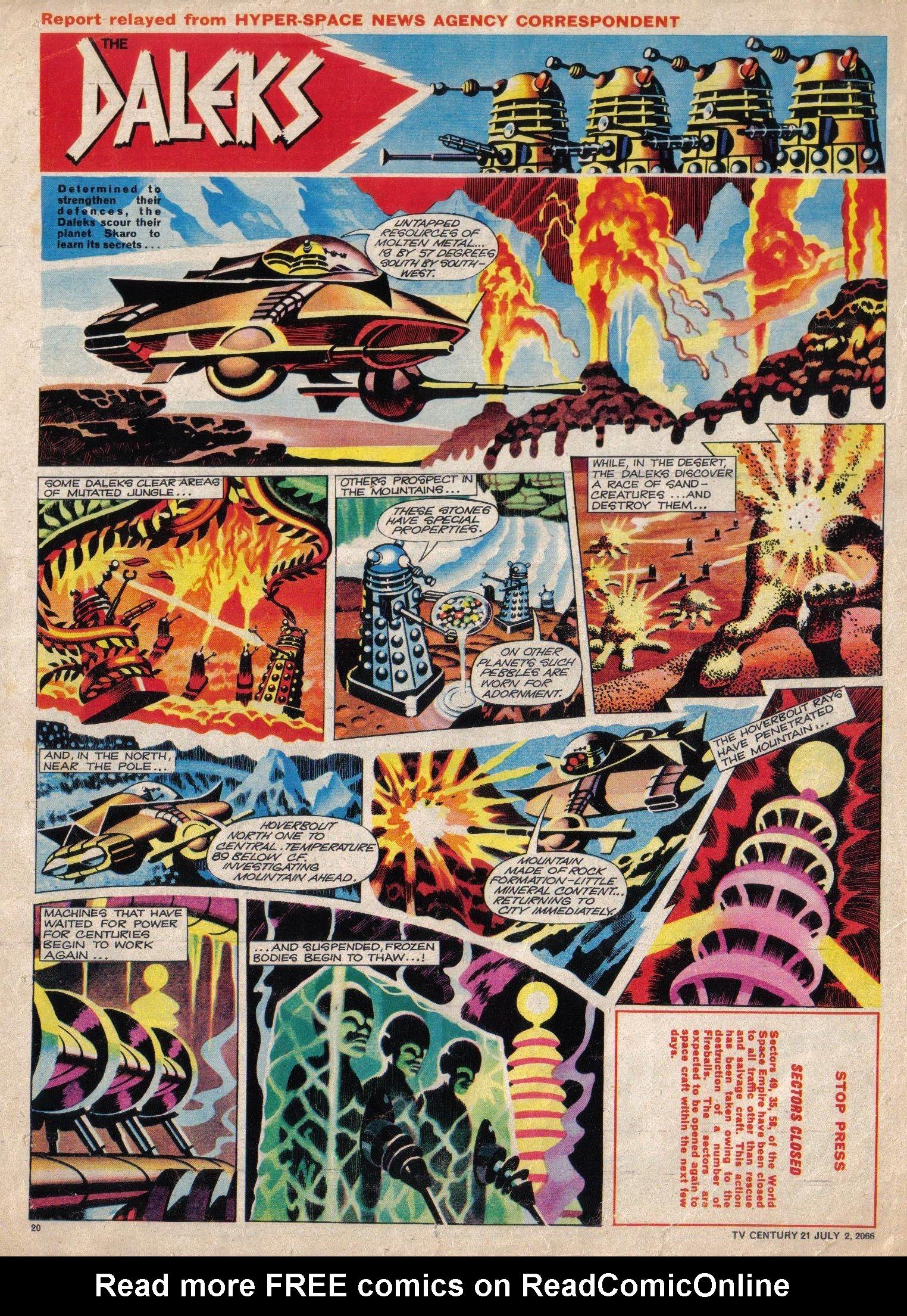 Read online TV Century 21 (TV 21) comic -  Issue #76 - 19