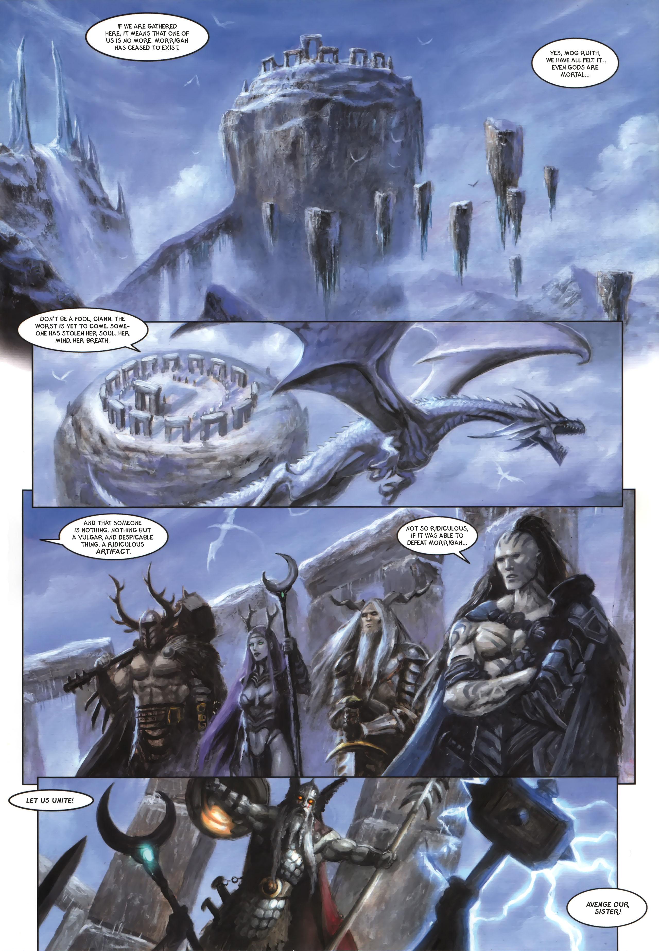 Read online Arawn comic -  Issue #6 - 9
