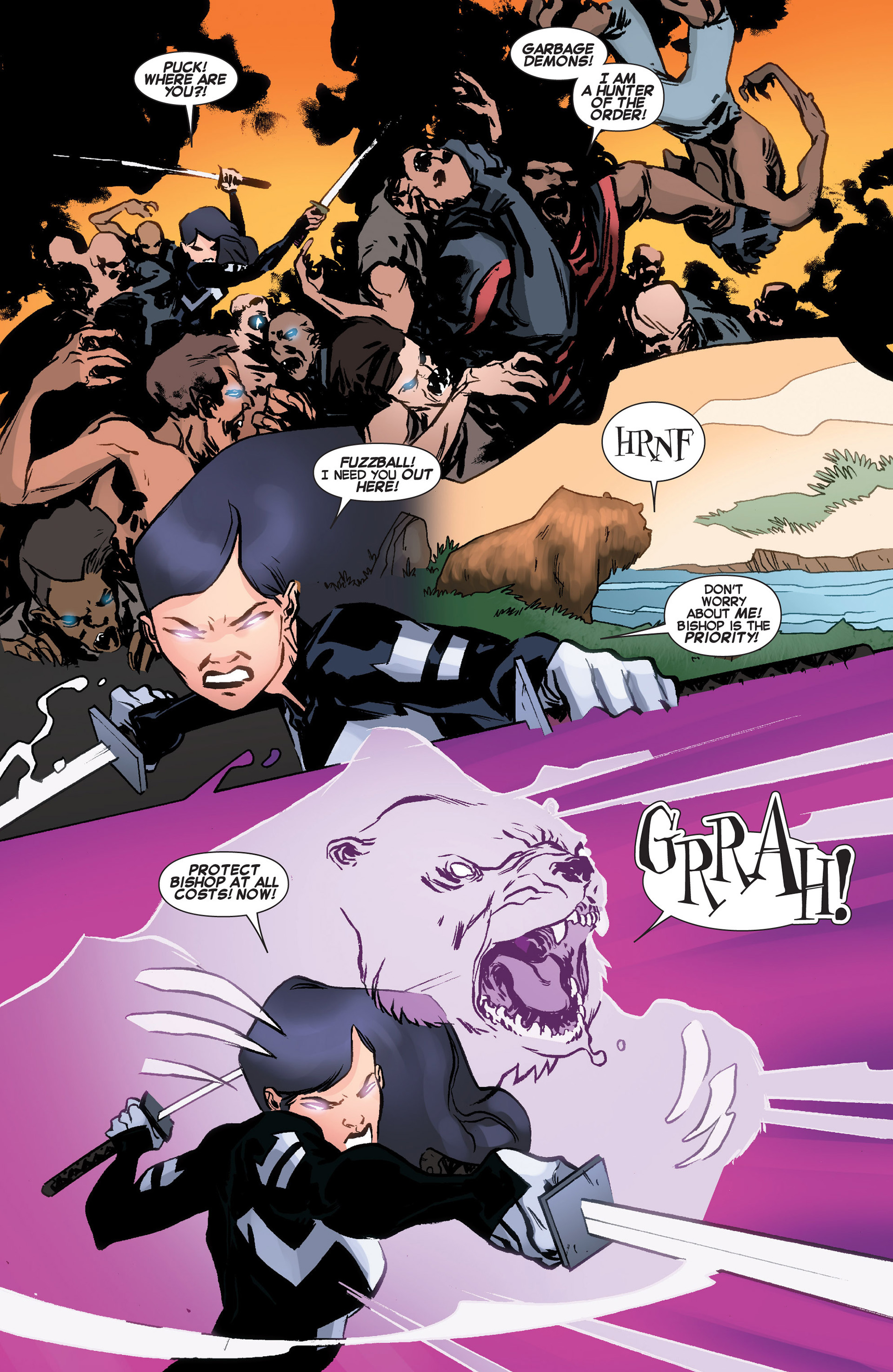 Read online Uncanny X-Force (2013) comic -  Issue #10 - 14