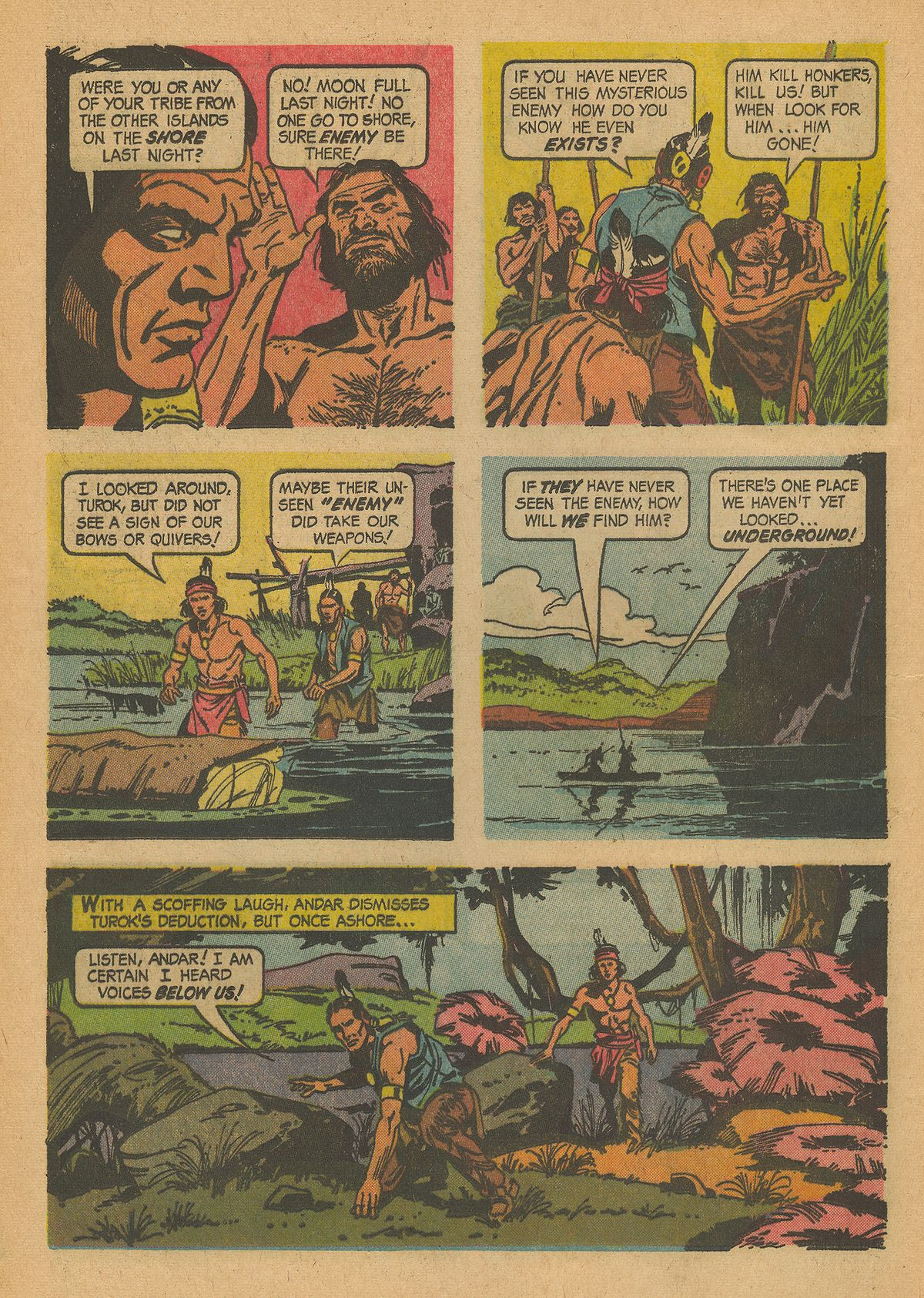 Read online Turok, Son of Stone comic -  Issue #43 - 12