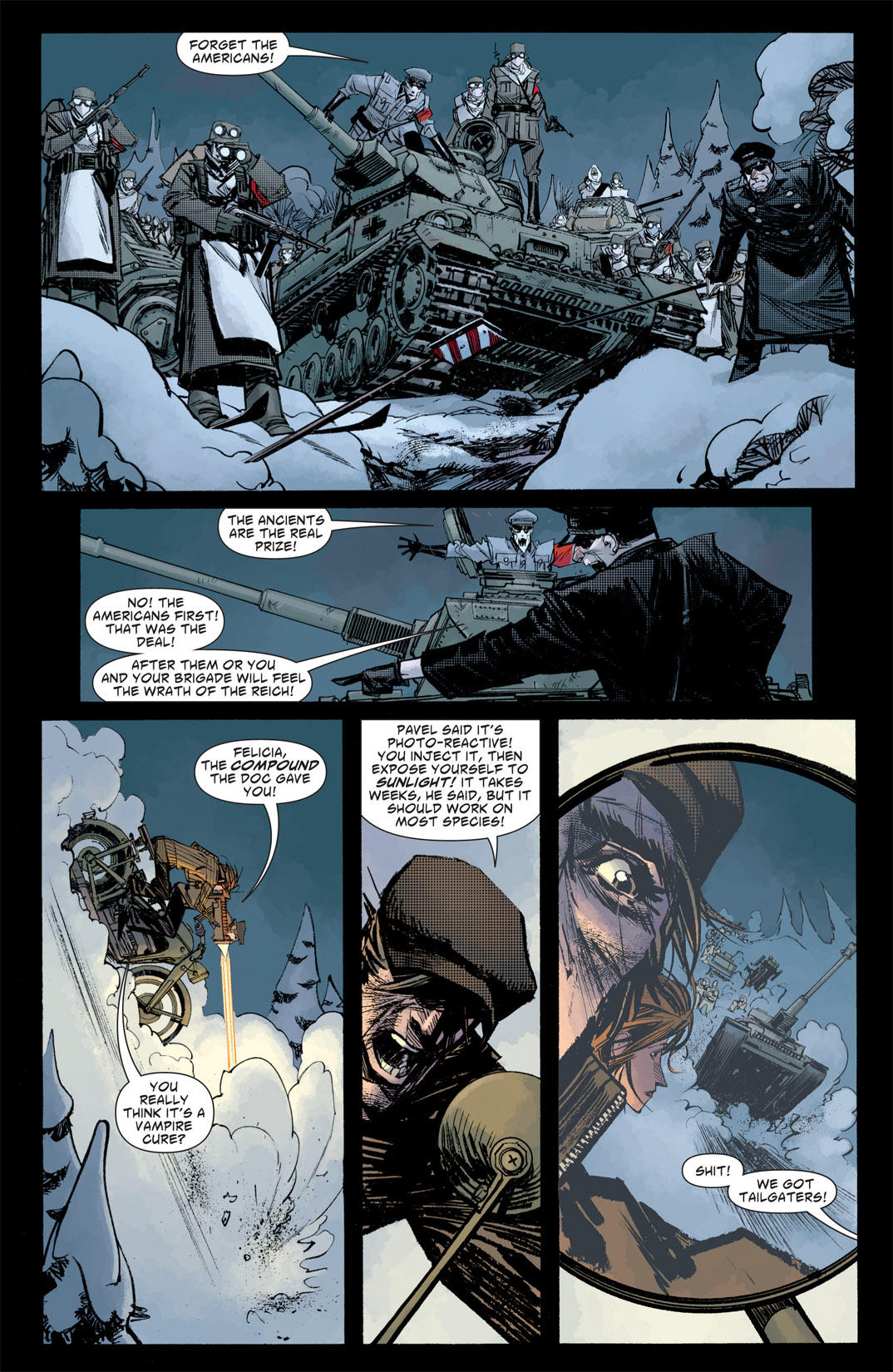 Read online American Vampire: Survival of the Fittest comic -  Issue #5 - 7