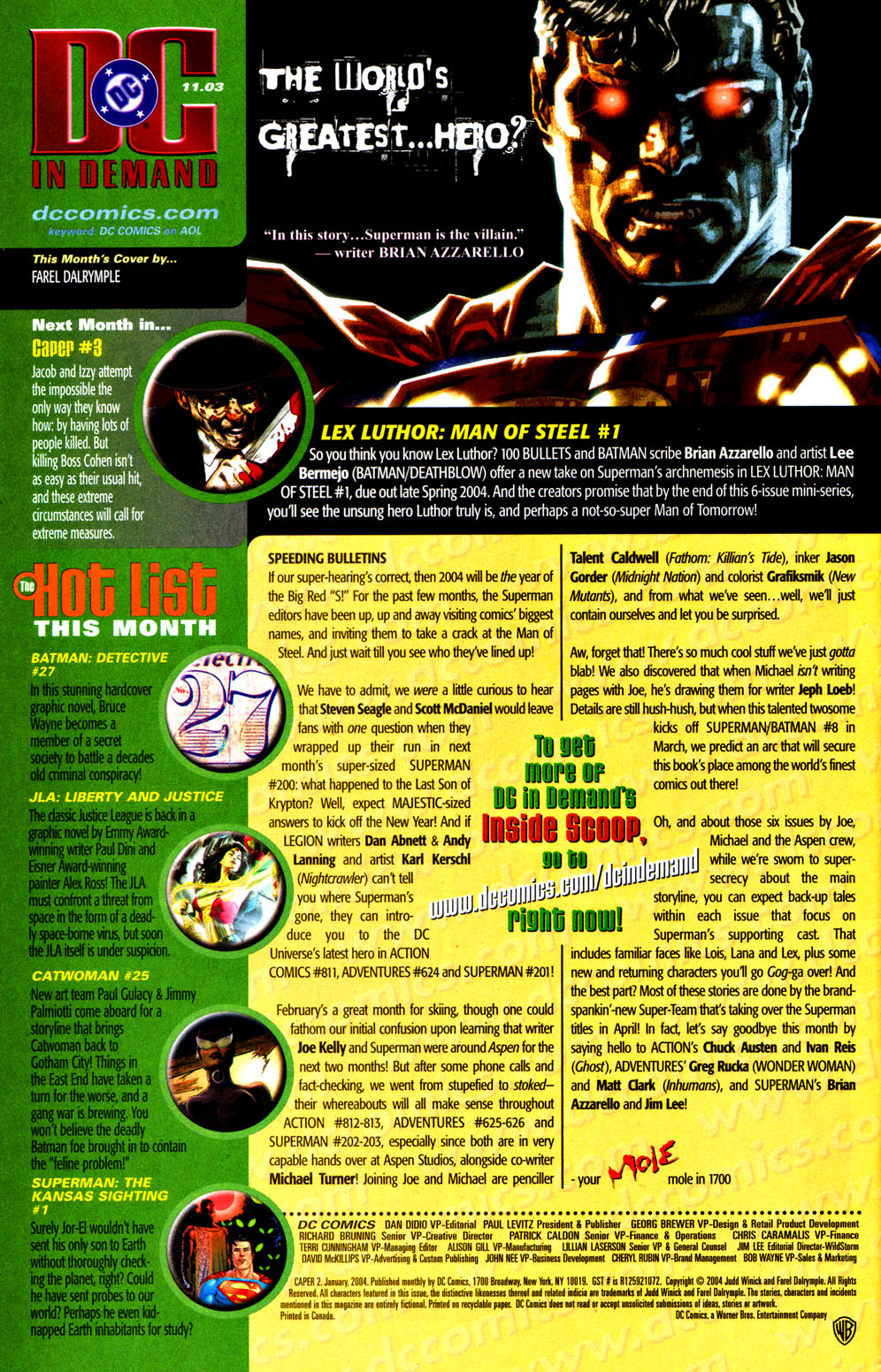 Read online Caper comic -  Issue #2 - 24