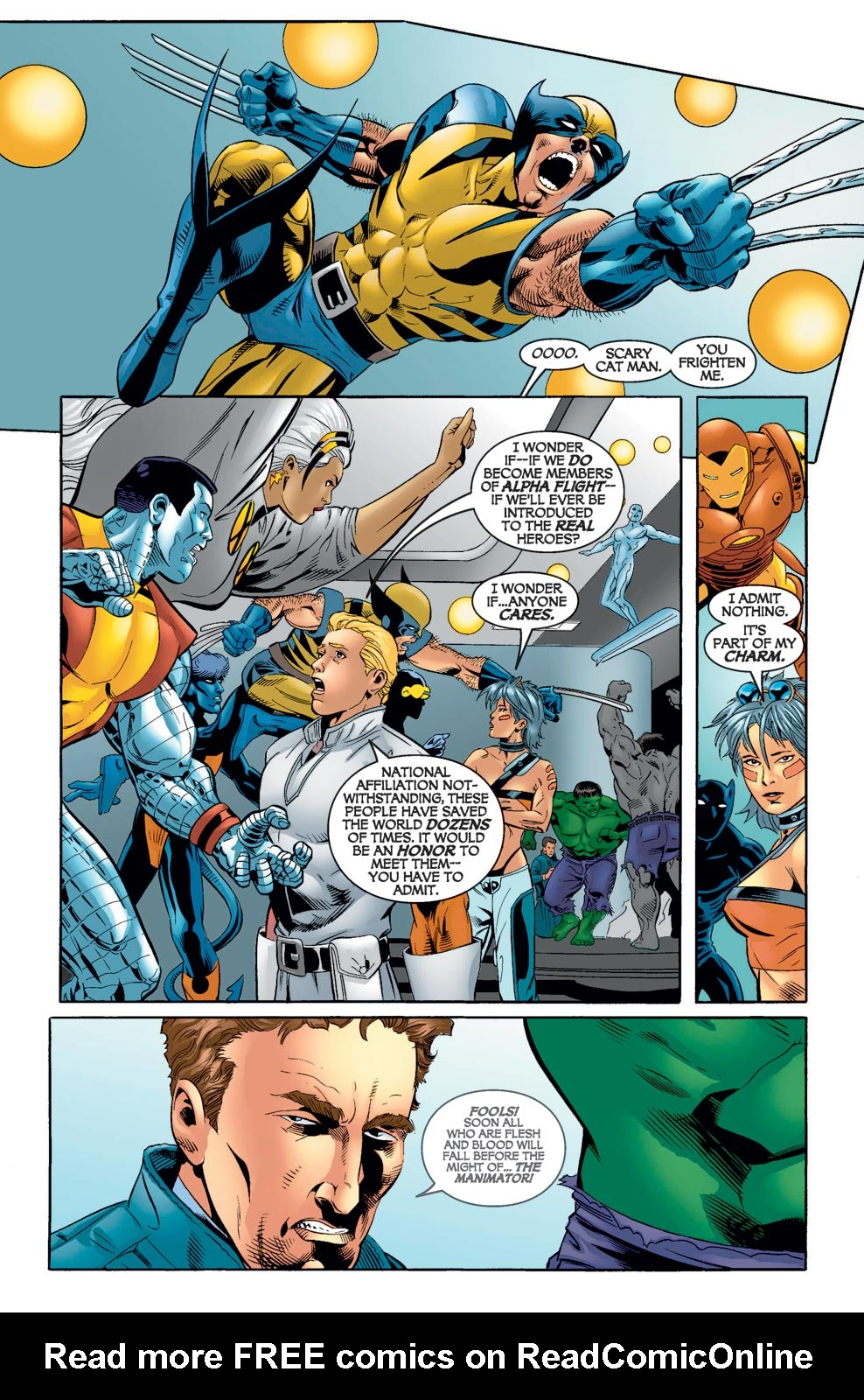 Read online Alpha Flight (2004) comic -  Issue #7 - 16