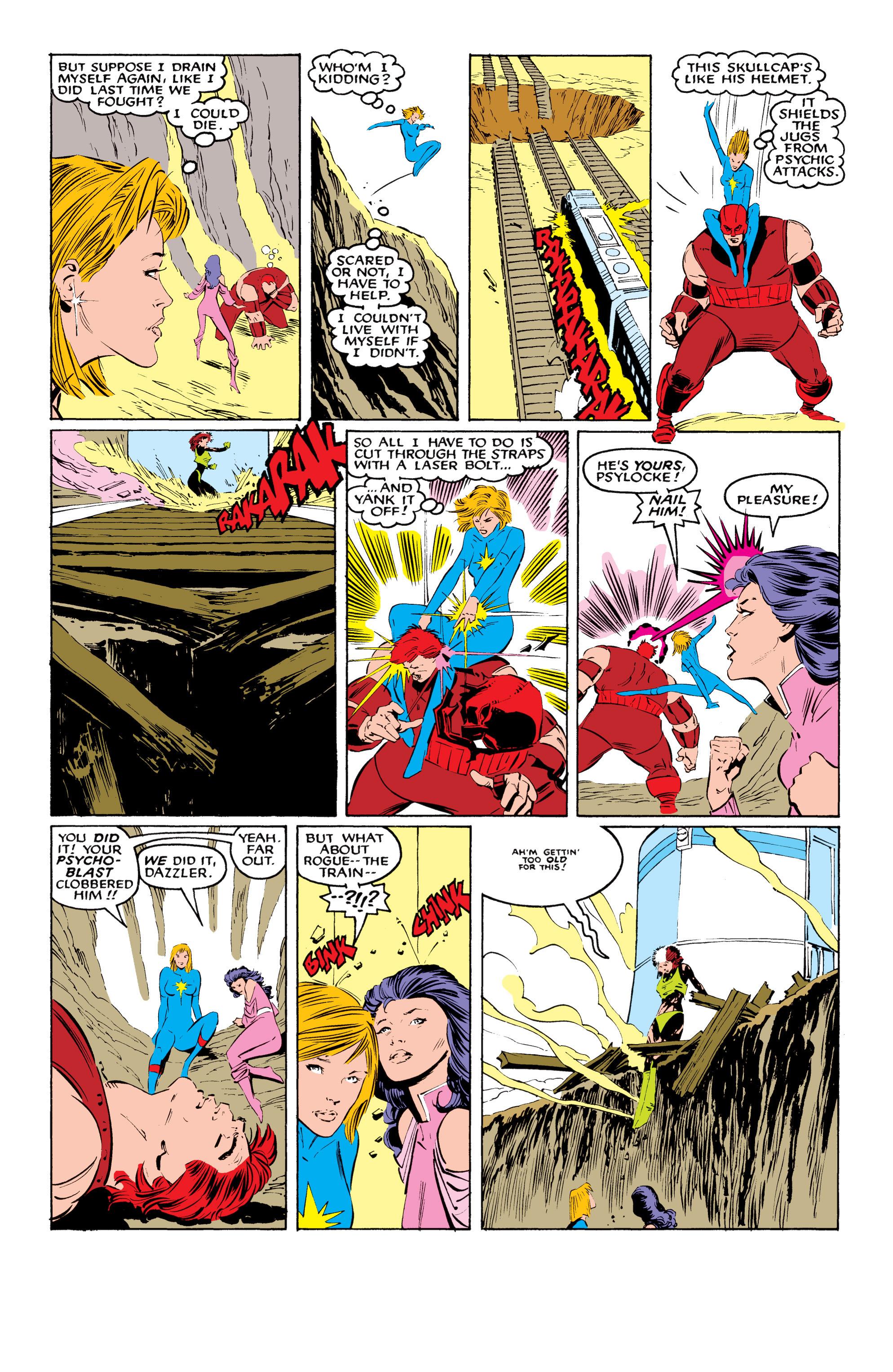 Read online Uncanny X-Men (1963) comic -  Issue #218 - 21