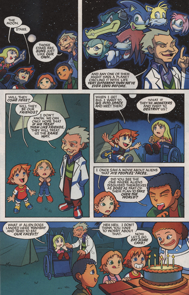 Read online Sonic X comic -  Issue #5 - 10