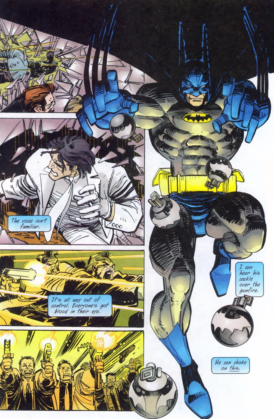 Read online Punisher/Batman: Deadly Knights comic -  Issue # Full - 29