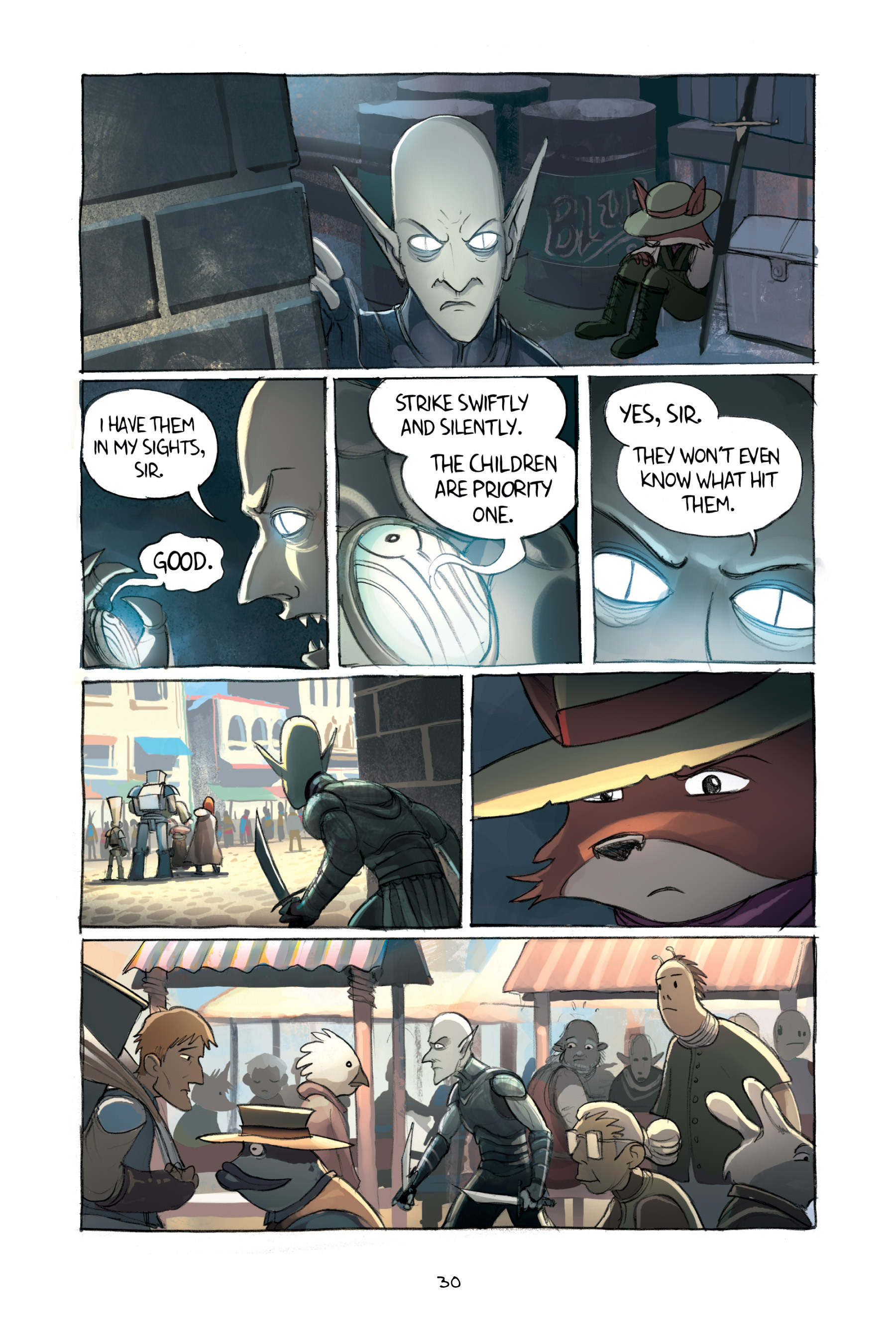 Read online Amulet comic -  Issue #2 - 32