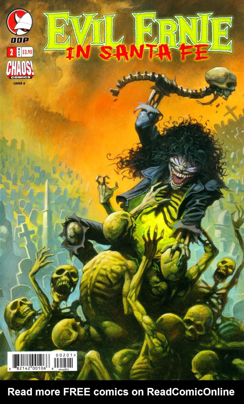 Read online Evil Ernie in Santa Fe comic -  Issue #2 - 1