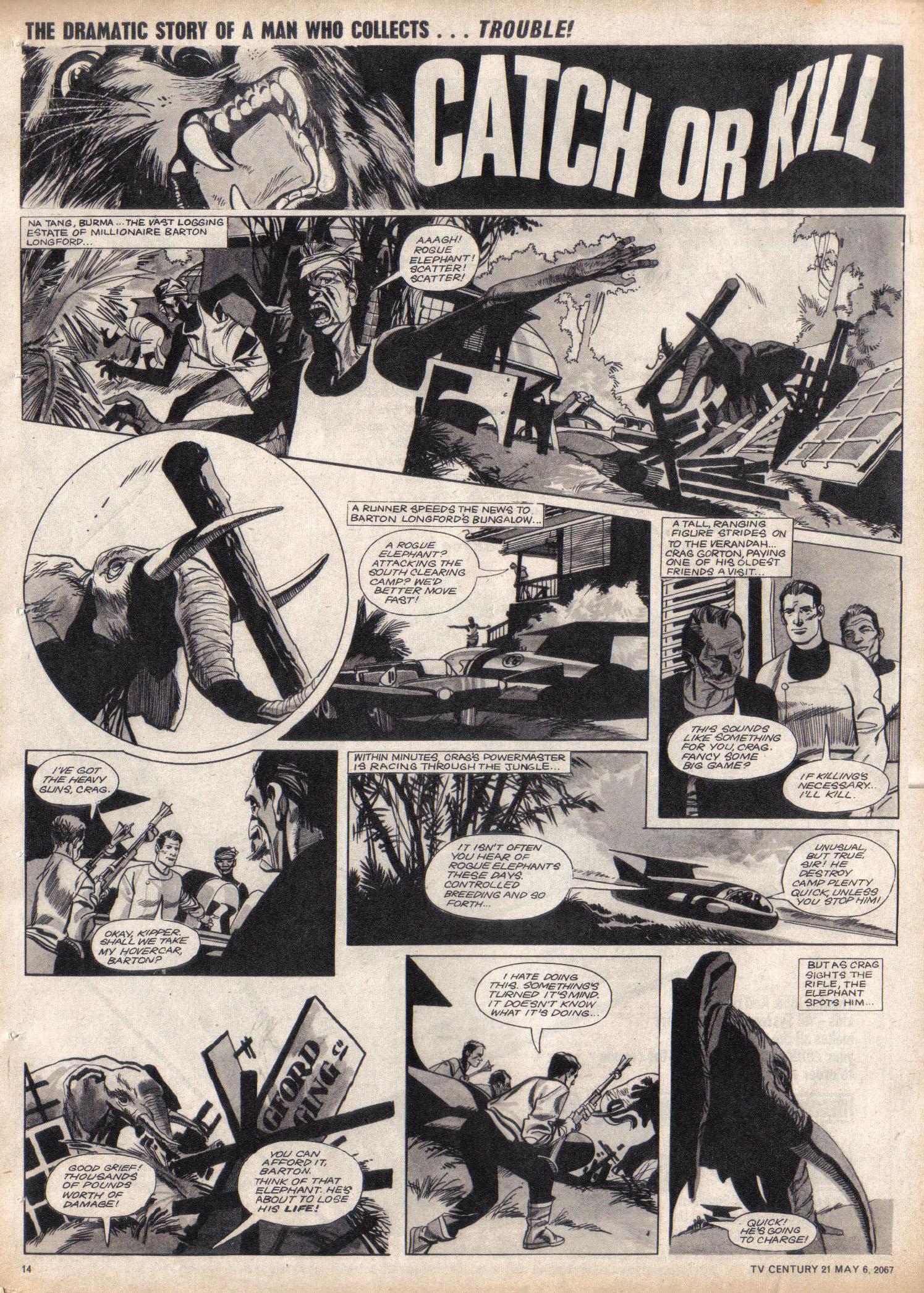 Read online TV Century 21 (TV 21) comic -  Issue #120 - 13