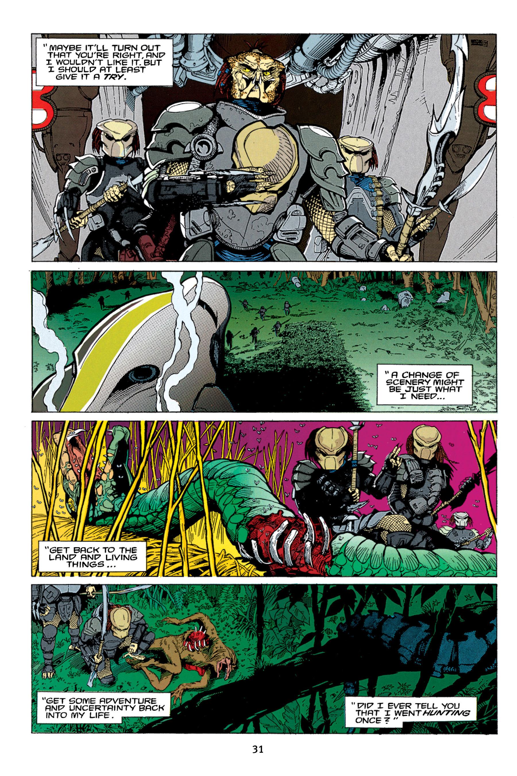 Read online Aliens vs. Predator Omnibus comic -  Issue # _TPB 1 Part 1 - 31